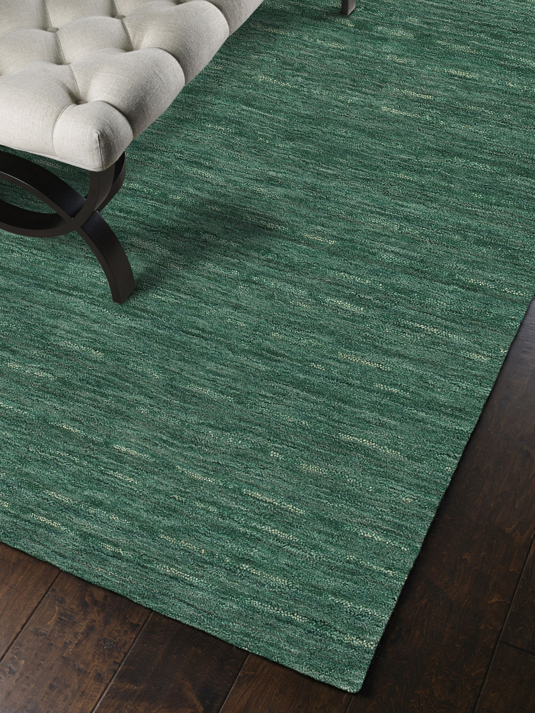 Toby Emerald Area Rug Rug Size: Rectangle 3'6