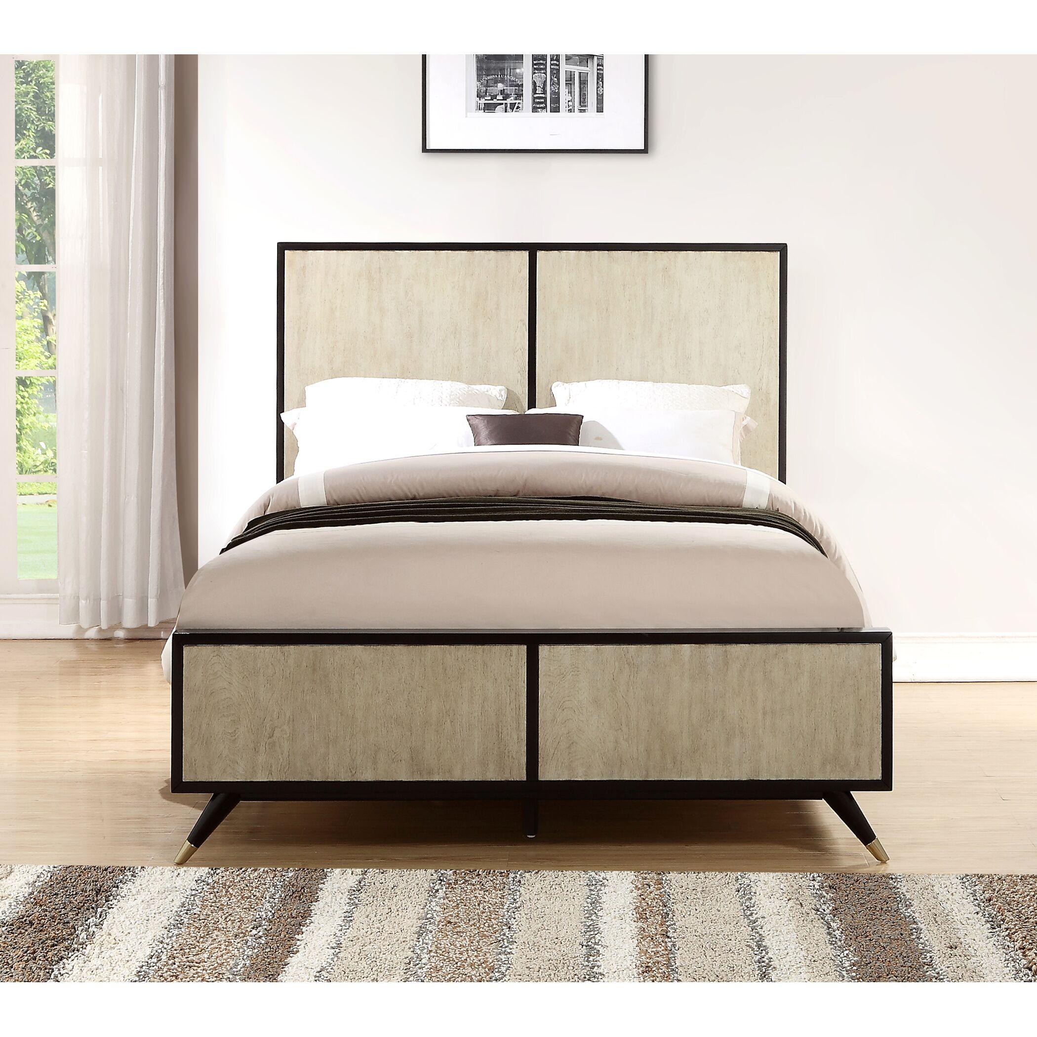 Bobby Platform Bed Size: King