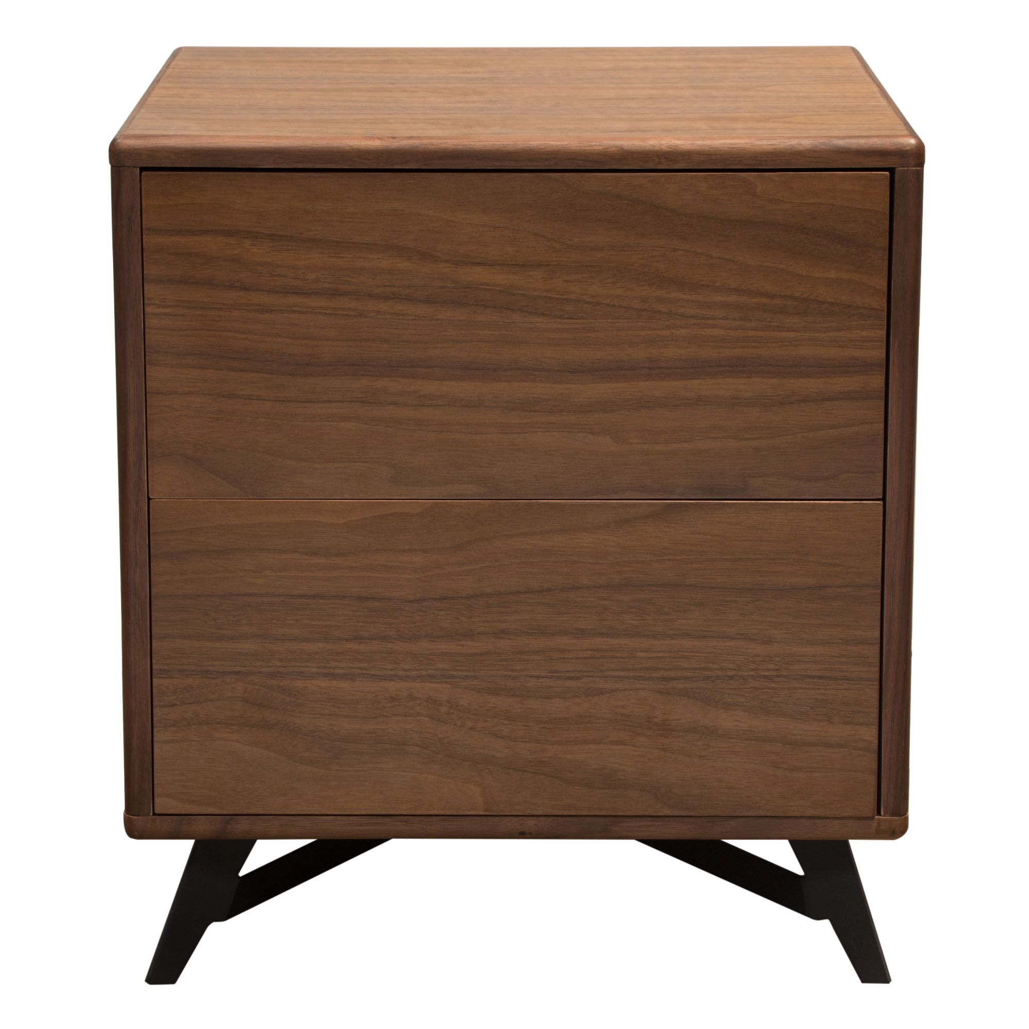 Tempo End Table Color: Walnut