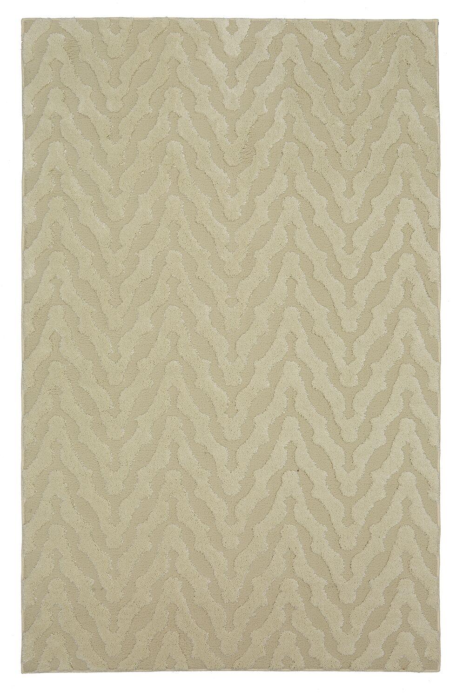Bonino Beige Area Rug Rug Size: Rectangle 5' x 8'