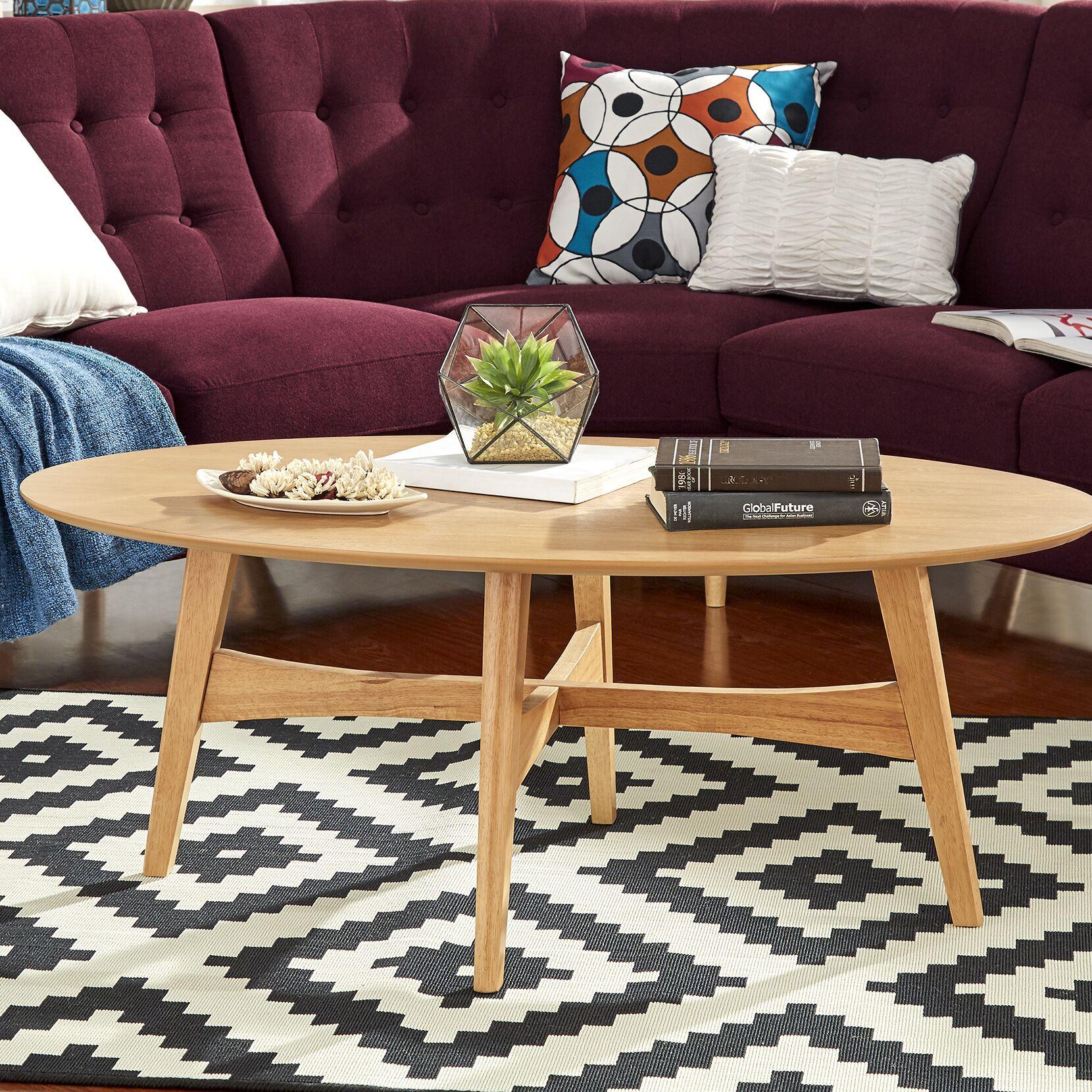Payton Coffee Table Color: Light Oak