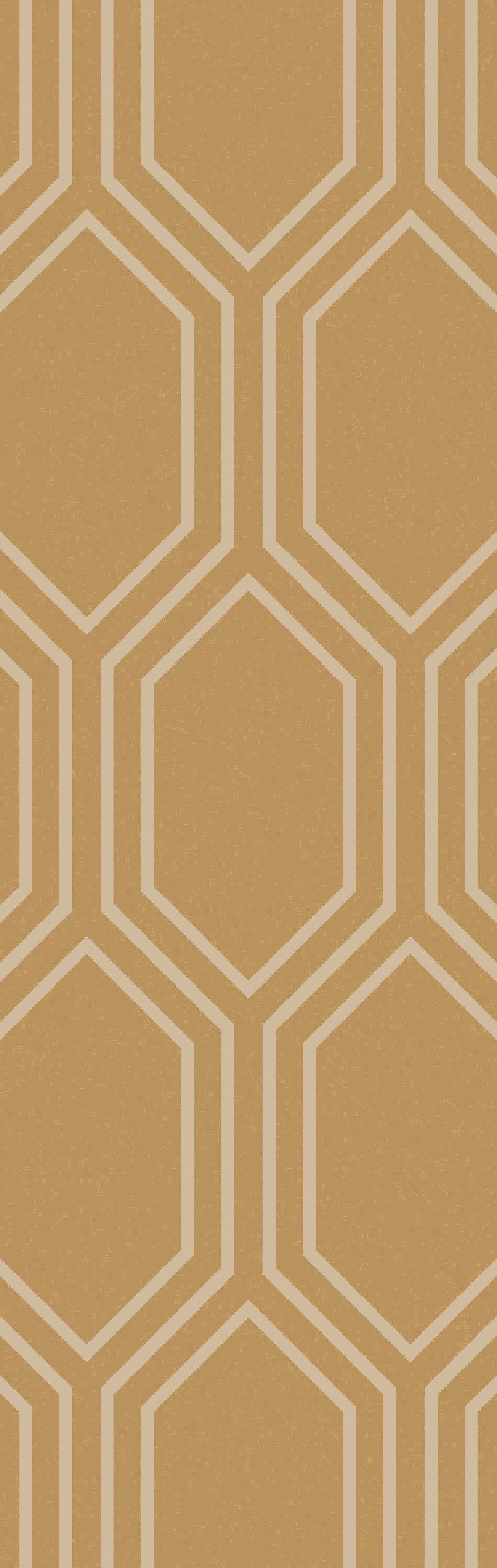 Bothwell Hand-Tufted Tan Area Rug Rug Size: Runner 2'6