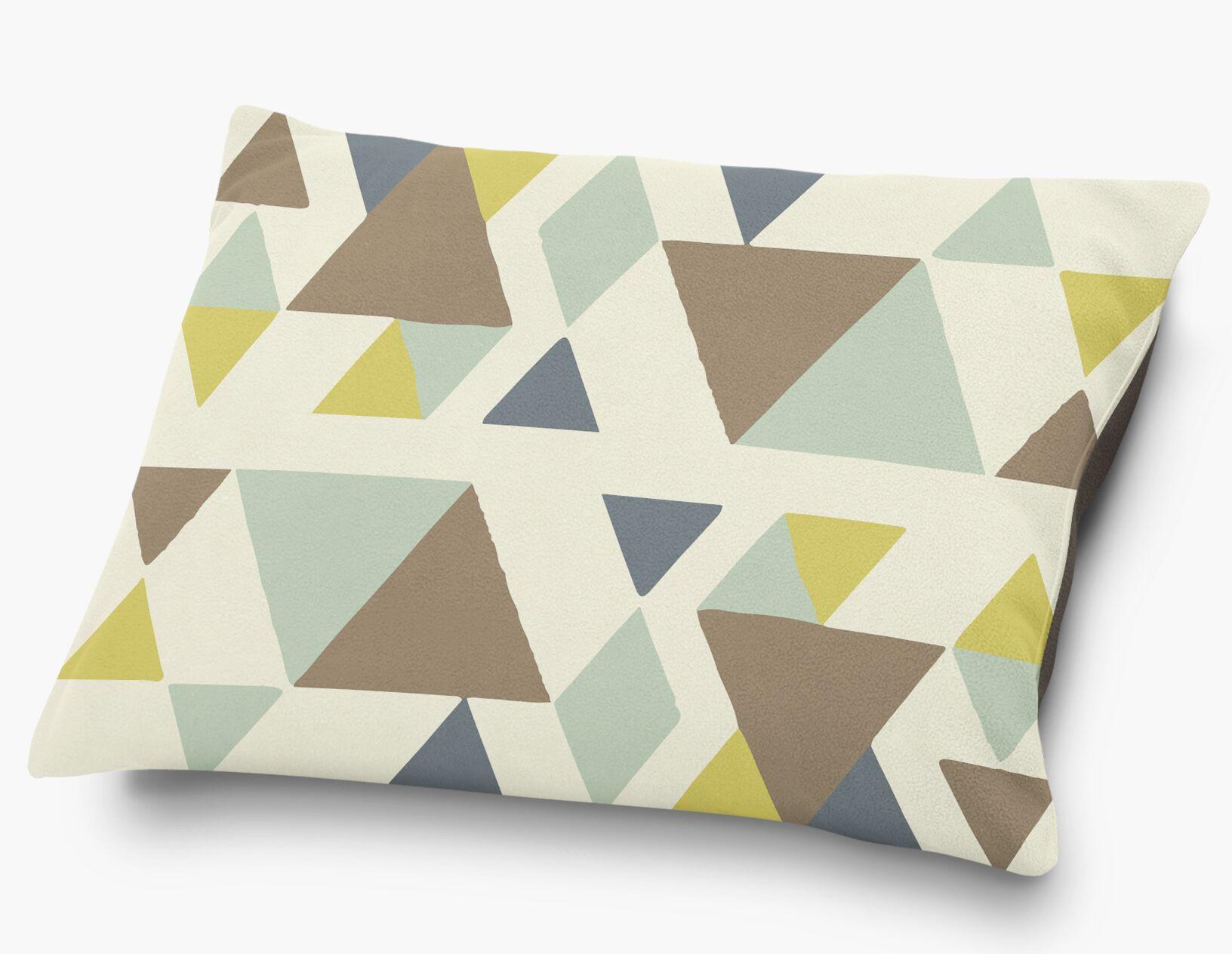 San Juan Pillow with Super Plush Poly Top Color: Blue/Multi