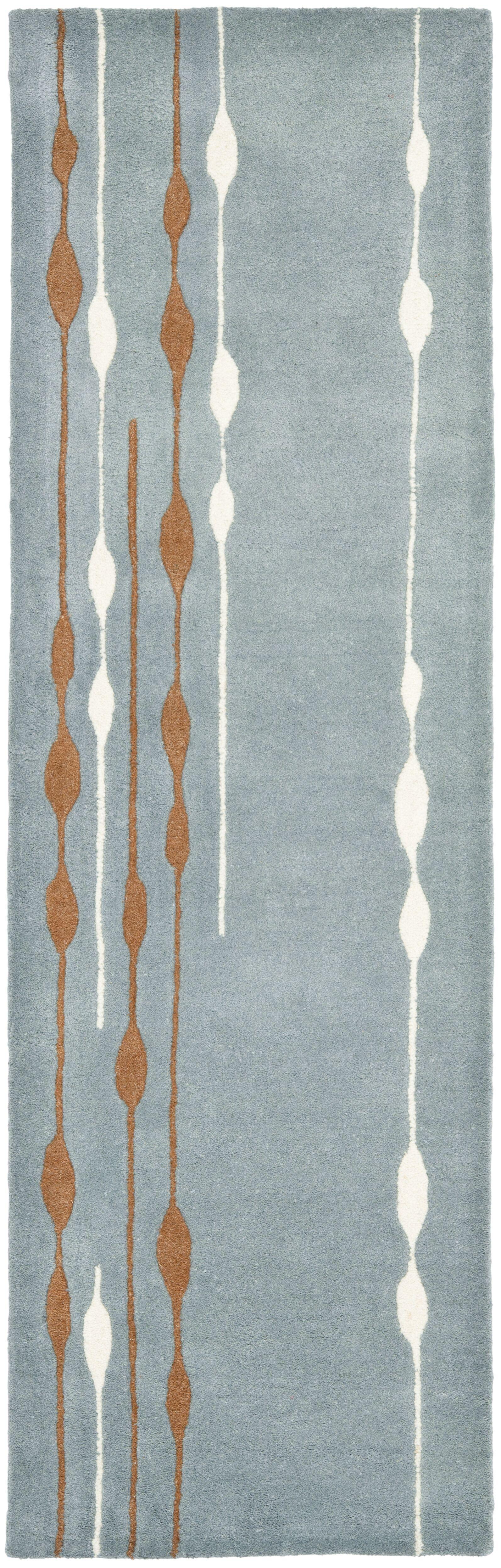 Amarion Blue/Multi Rug Rug Size: Runner 2'6