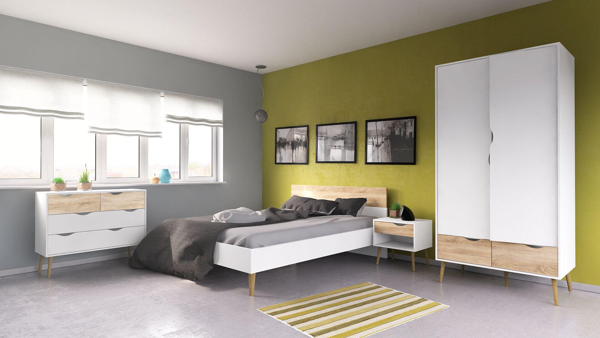 Mateer Queen Panel Configurable Bedroom Set