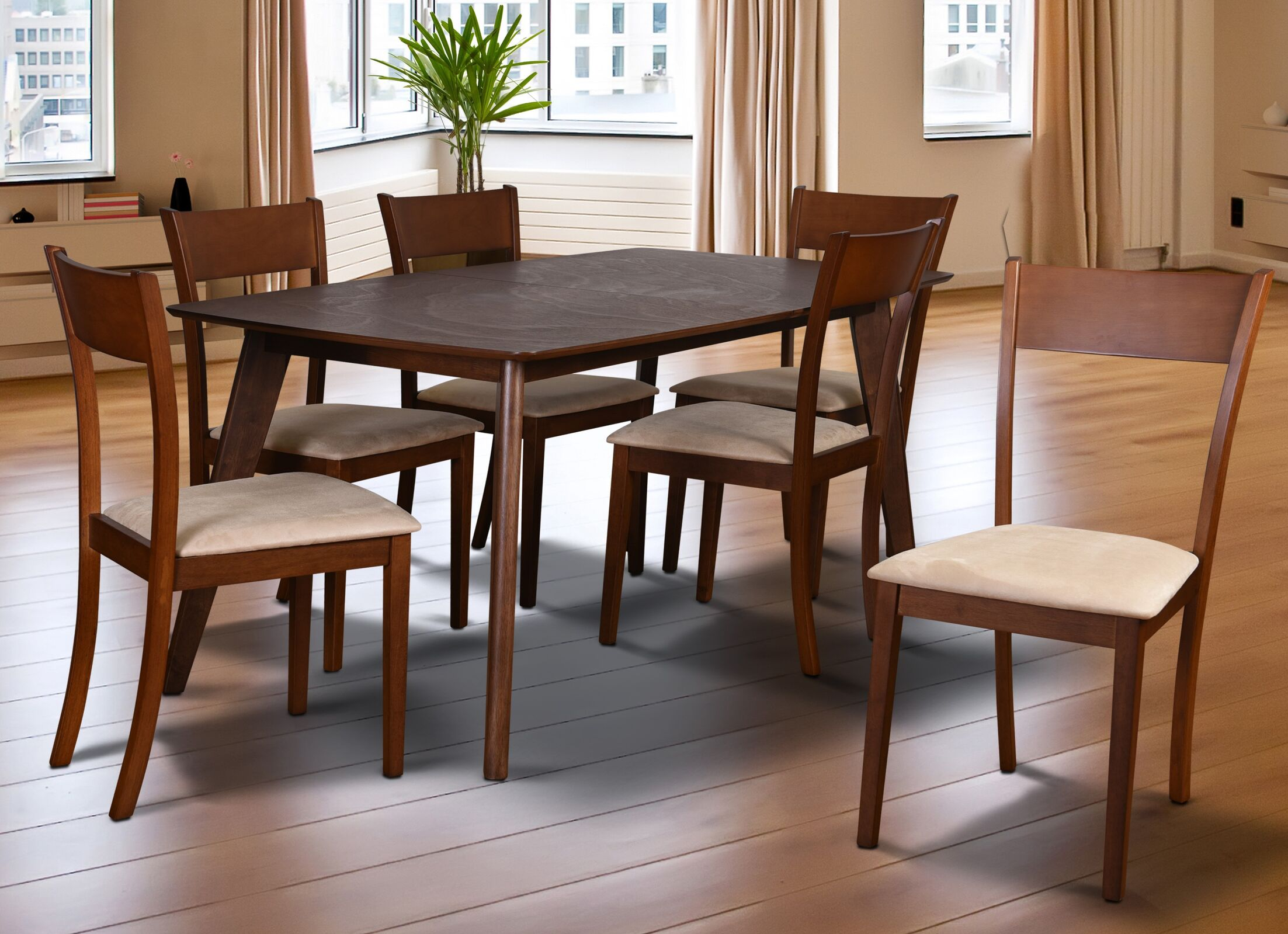 Dining Table Sets Roosevelt 7 Piece Dining Set