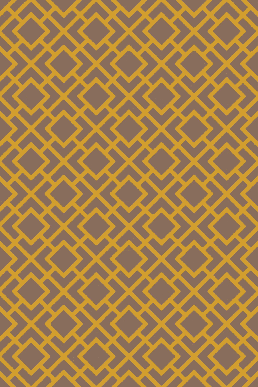 Berkeley Gold/Taupe Area Rug Rug Size: Rectangle 5' x 7'6