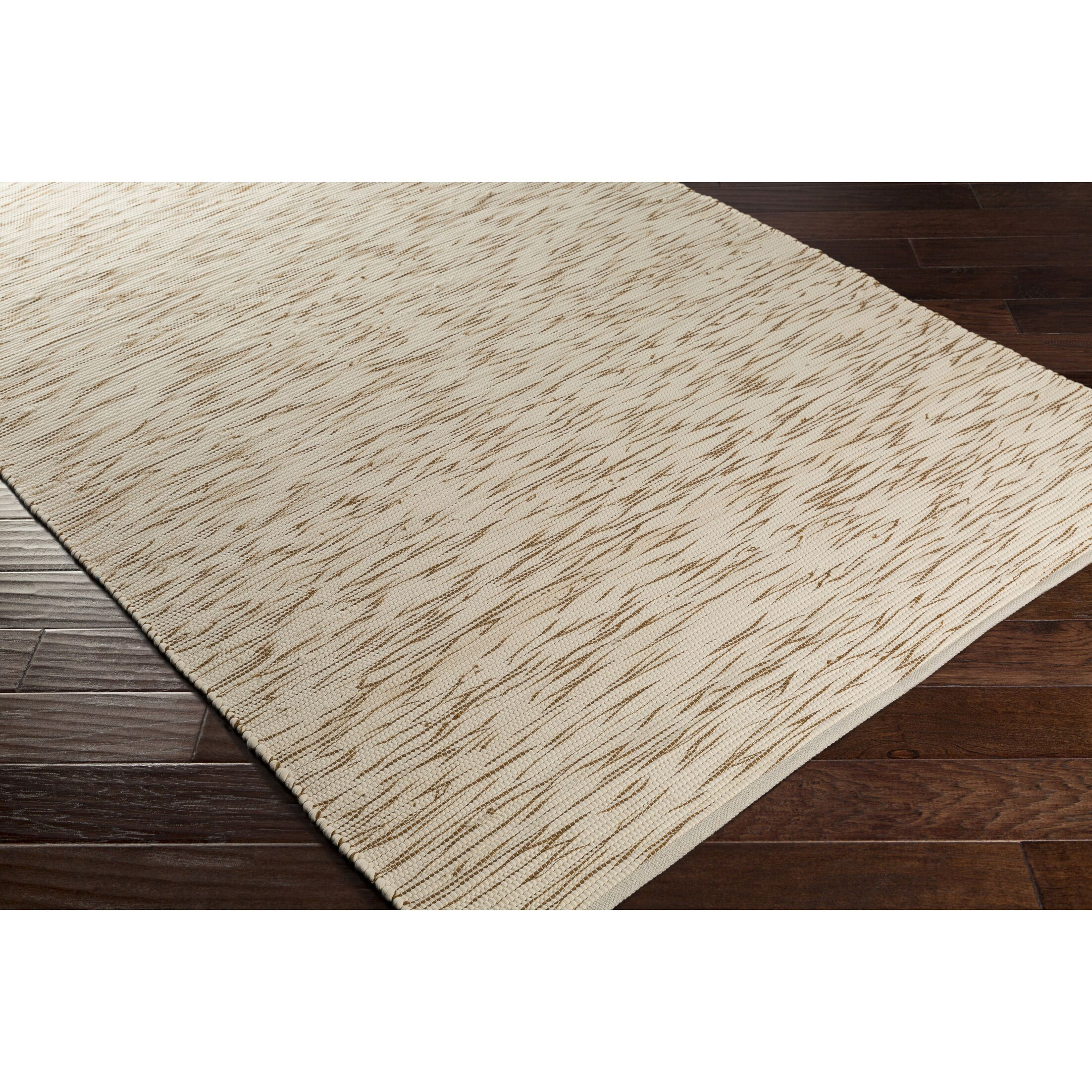 Forestport Hand-Woven Brown/Neutral Area Rug Rug Size: Rectangle 5' x 7'6