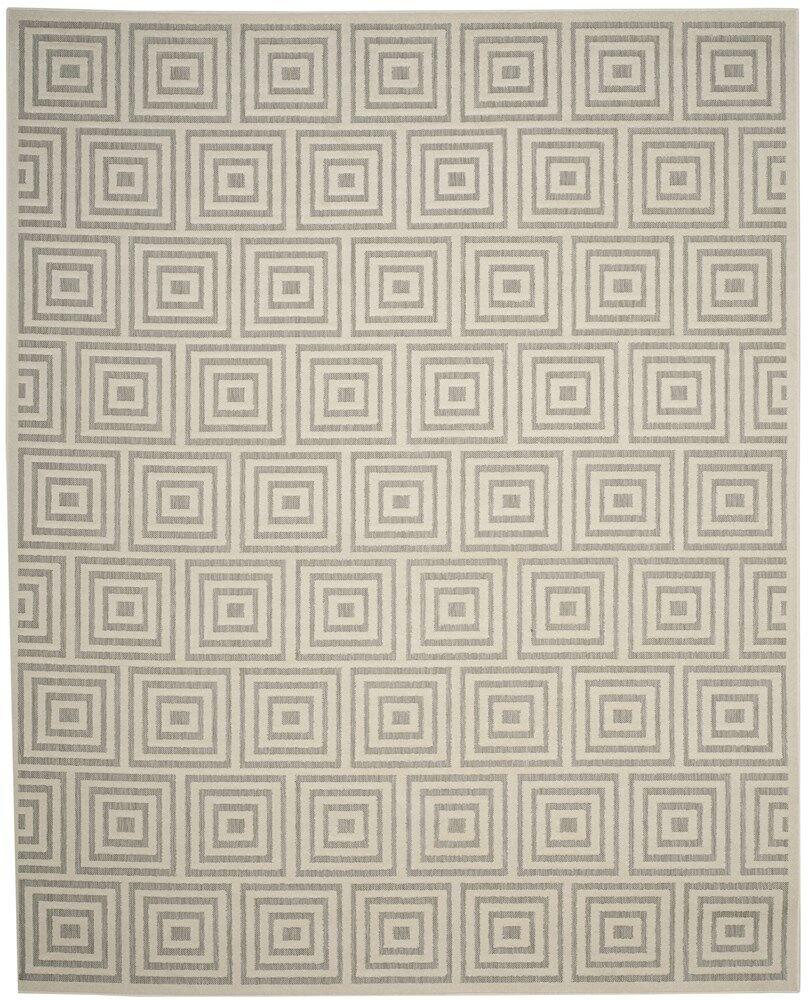 Candor Gray Outdoor Area Rug Rug Size: Rectangle 8' x 11'2
