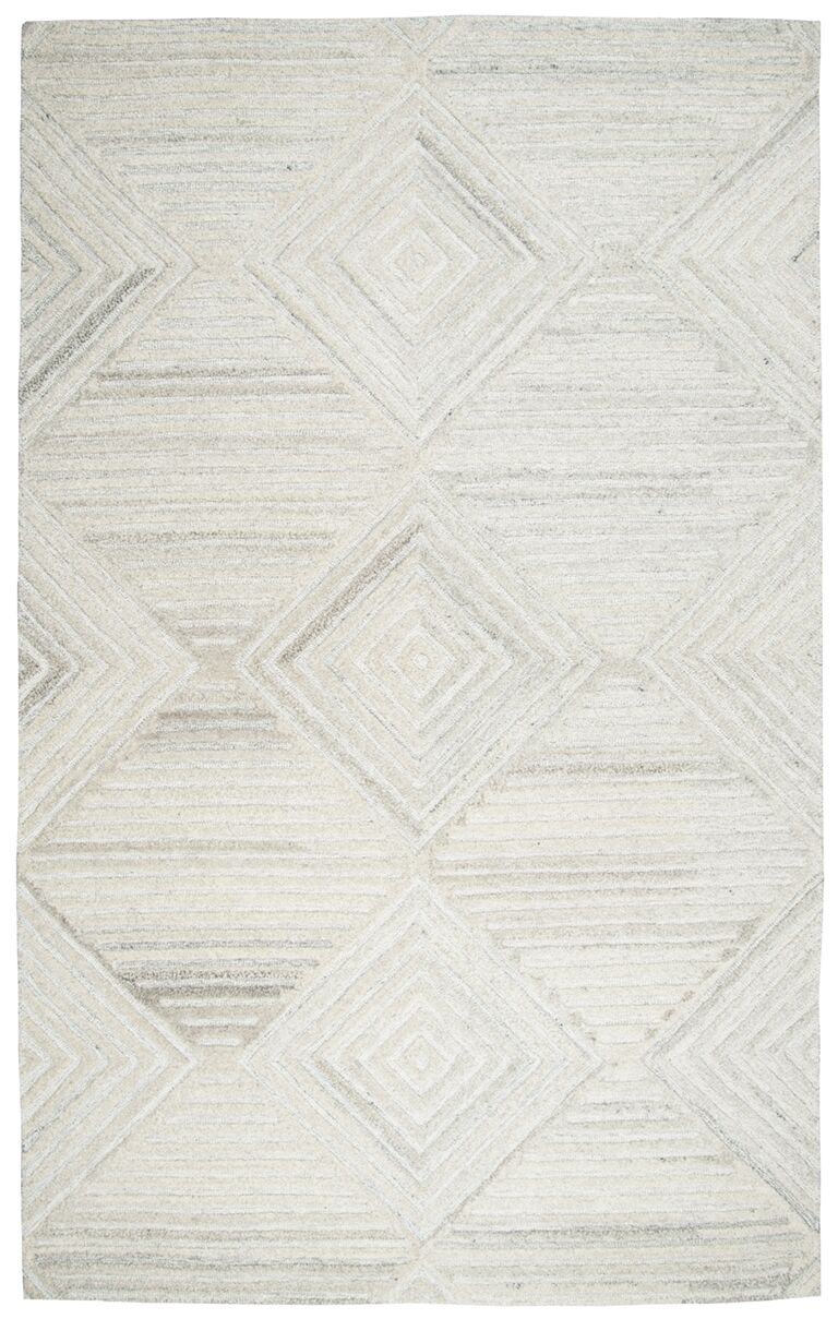 Yucca Place Hand-Tufted Ivory Area Rug Rug Size: Rectangle 3' x 5'