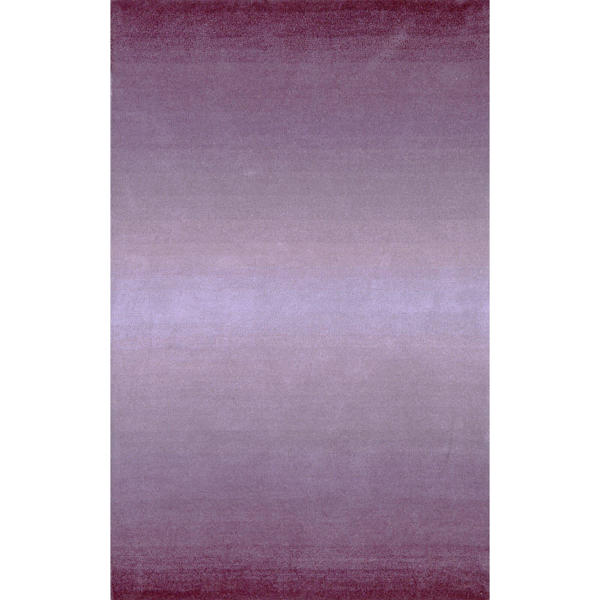 Belding Hand-Tufted Wool Purple Area Rug Rug Size: Rectangle 3'6