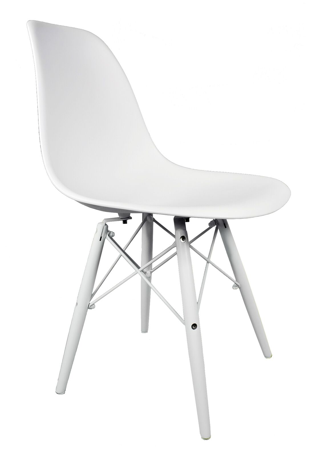 Hammond Dining Chair Finish: White