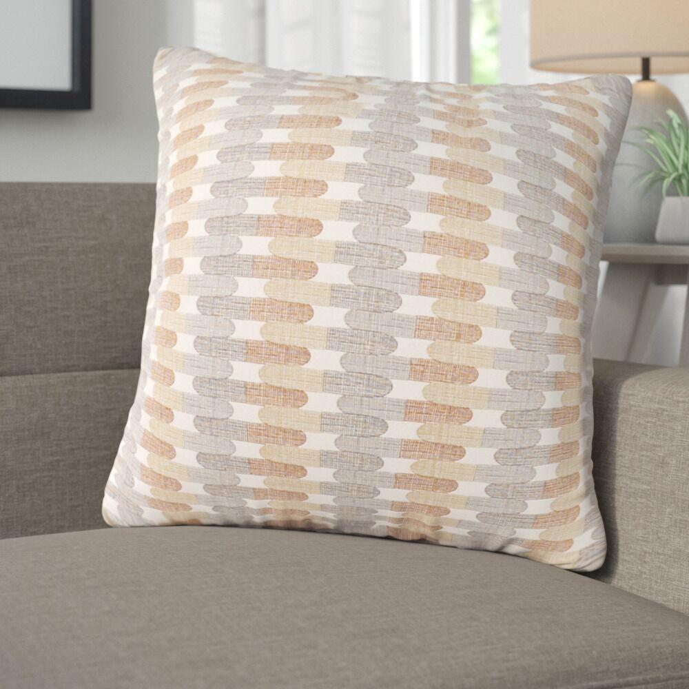 Rodrick Throw Pillow Color: Charcoal