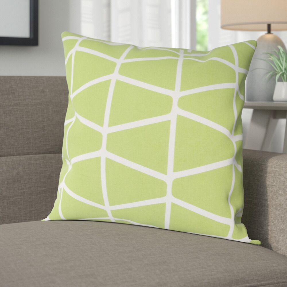 Halverson 100% Cotton Pillow Cover Size: 20