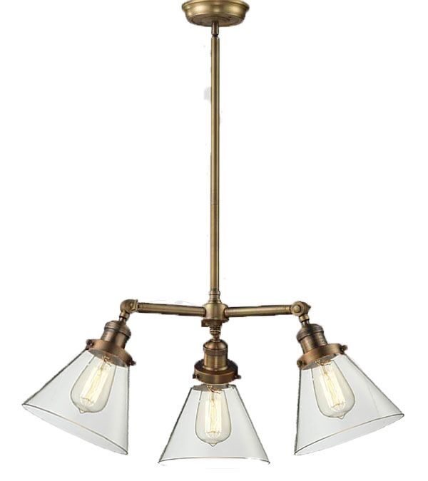 Ellison 3-Light Shaded Chandelier Finish: Oil Rubbed Bronze, Size: 13