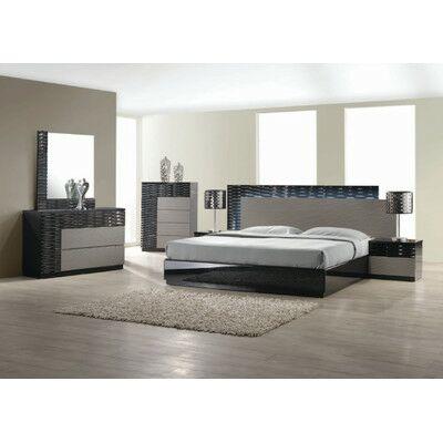 Kahlil Platform 5 Piece Bedroom Set Size: California King