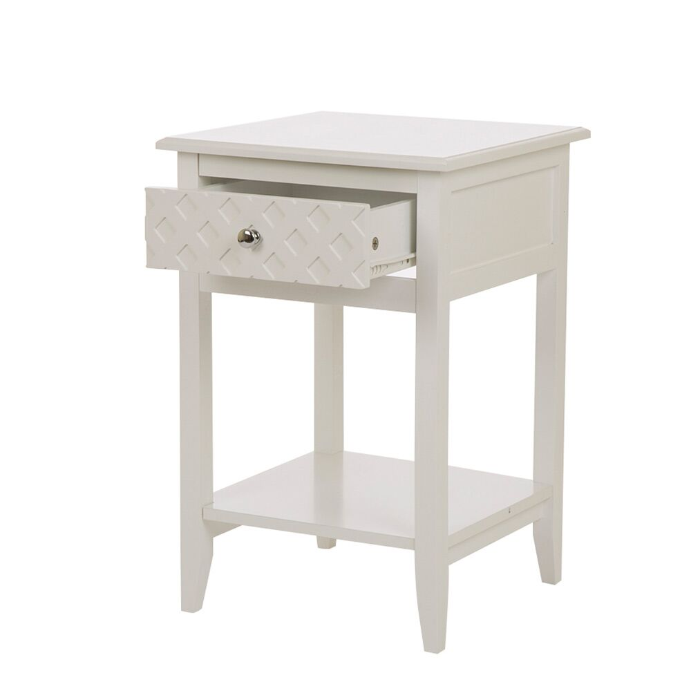 Karly End Table with Storage