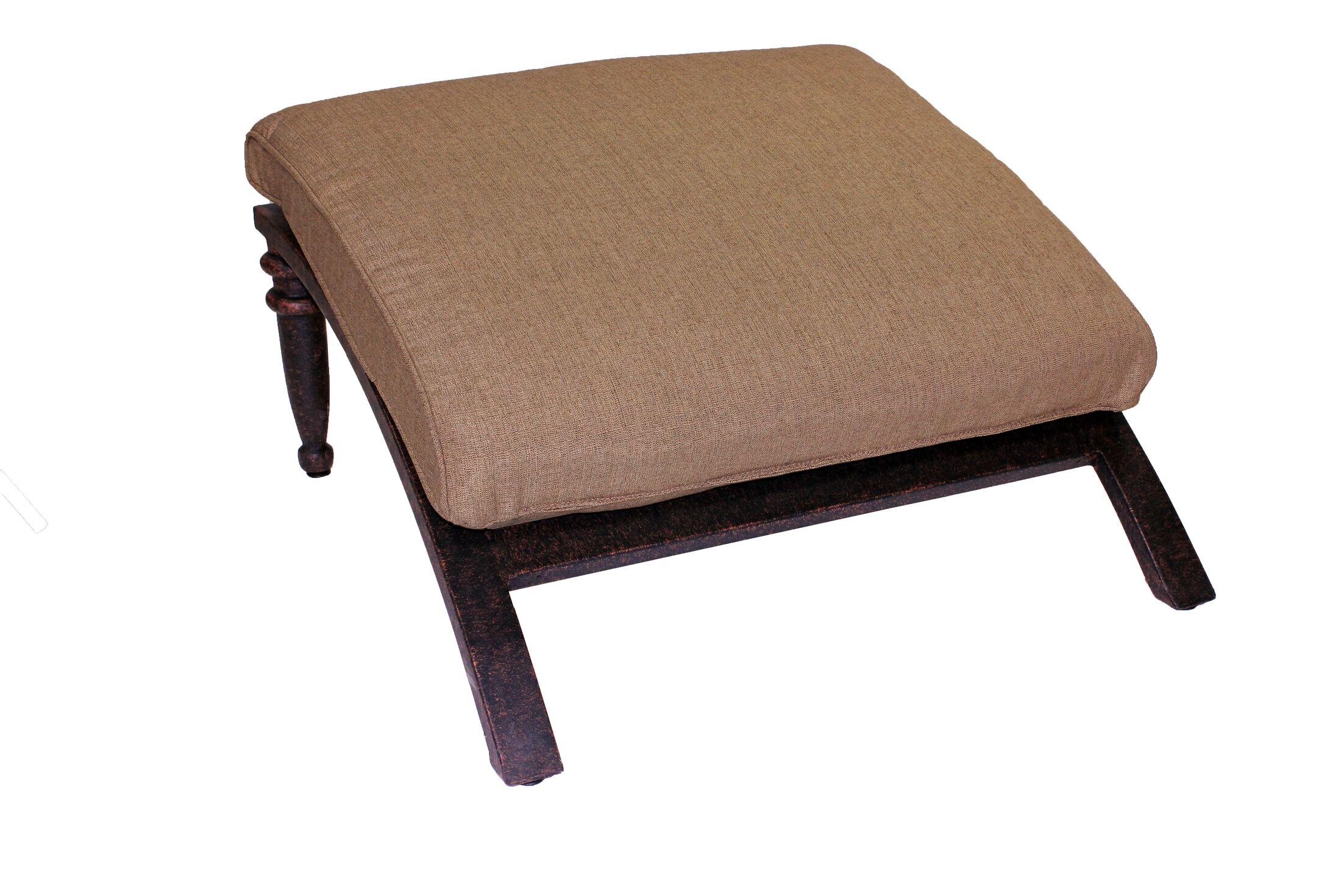 Corona Ottoman with Cushion