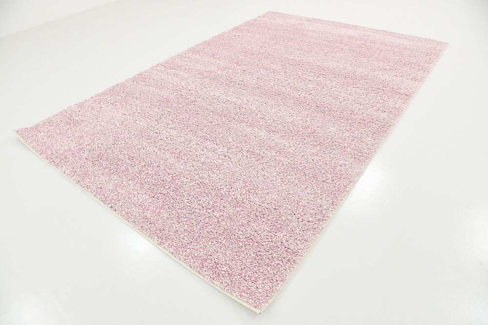 Sellman Pale Pink Area Rug Rug Size: Rectangle 6'7