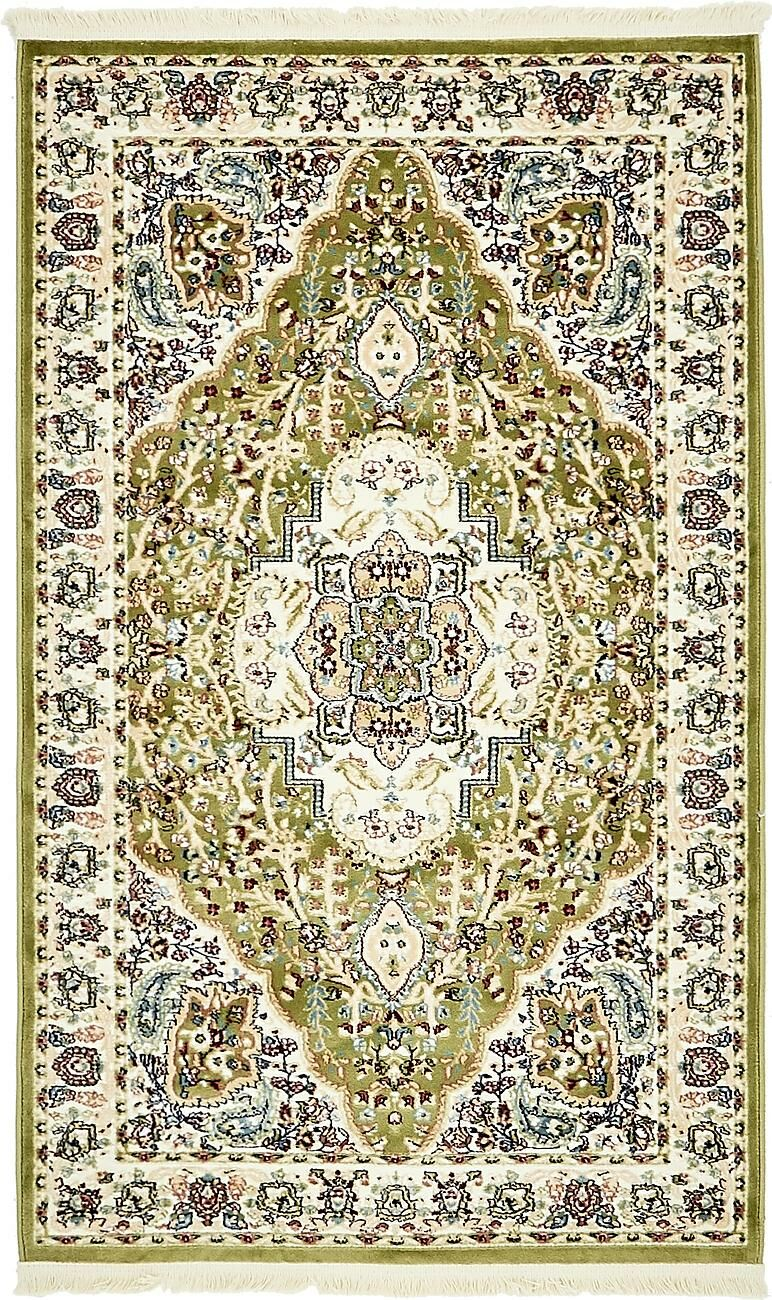 Quince Green Area Rug