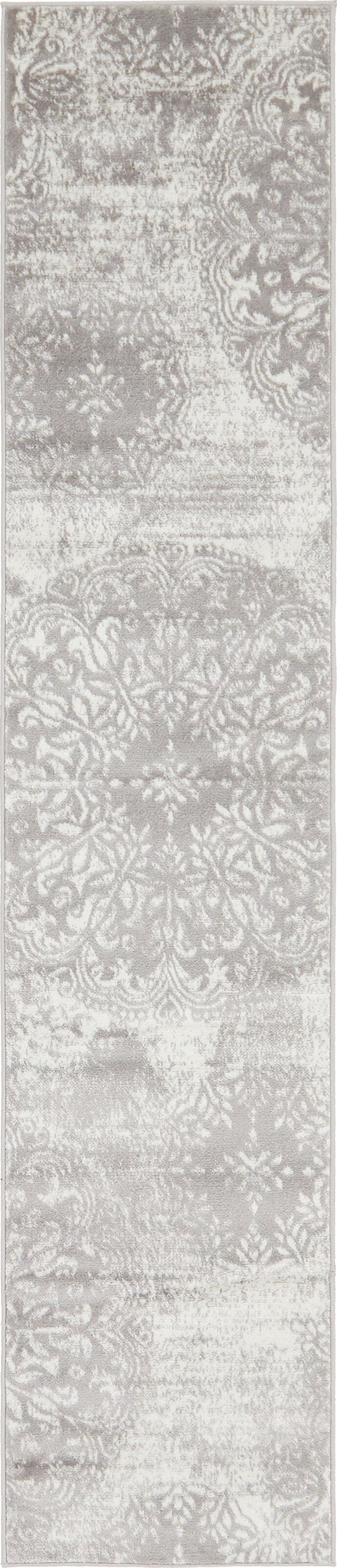 Brandt Light Gray Area Rug Rug Size: Runner 3'3