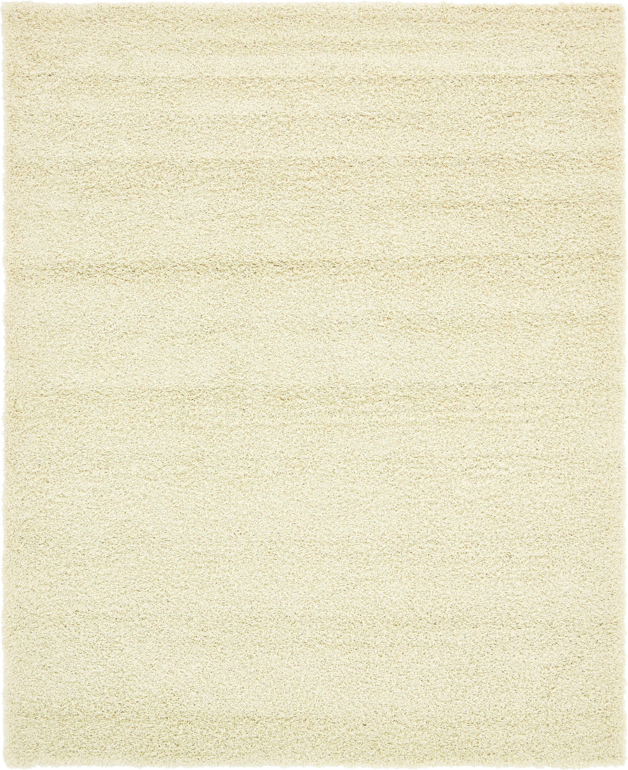 Lilah Pure Ivory Area Rug Rug Size: Rectangle 8' x 10'