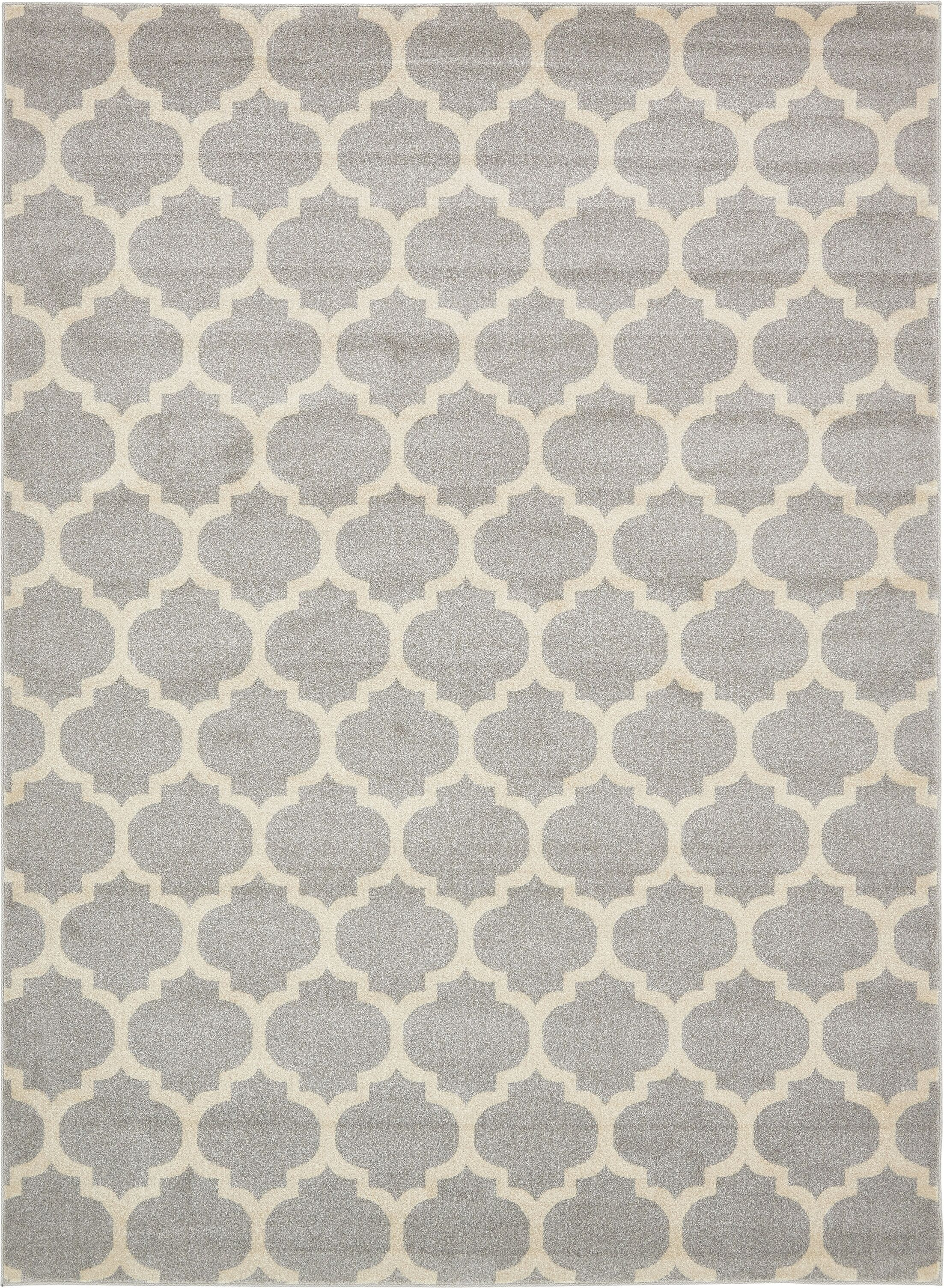 Moore Gray Area Rug Rug Size: Rectangle 8' x 11'
