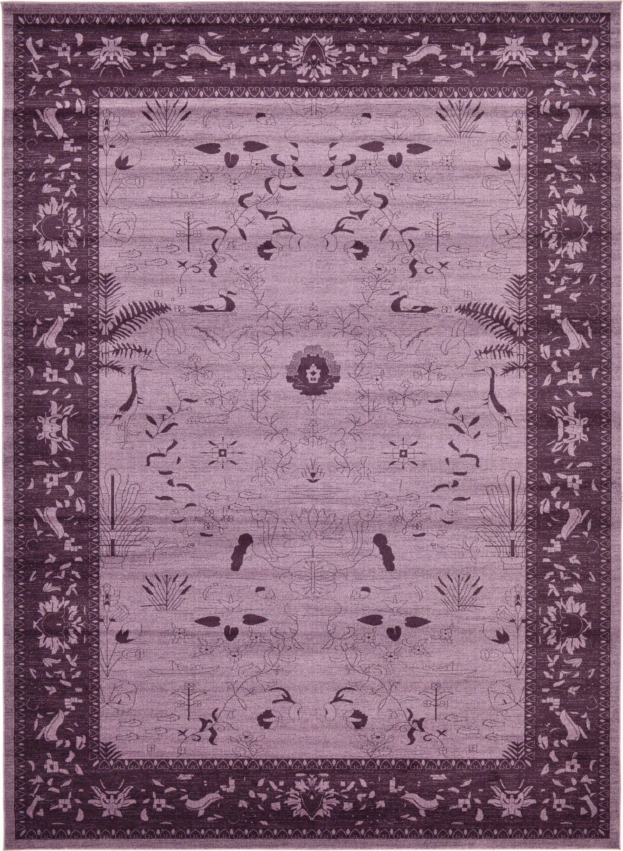 Shailene Purple Area Rug Rug Size: Rectangle 13' x 18'