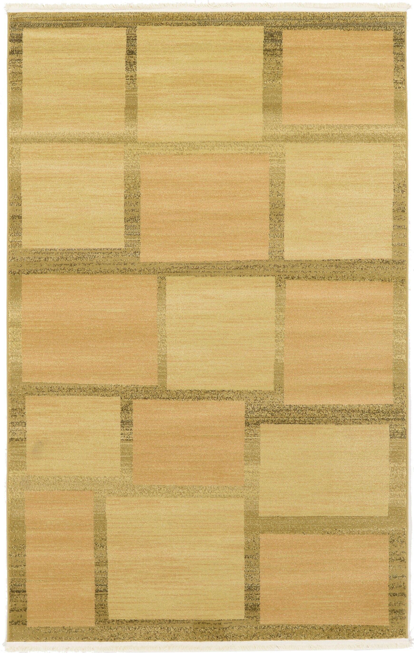 Almena Beige Area Rug Rug Size: Rectangle 5' x 8'