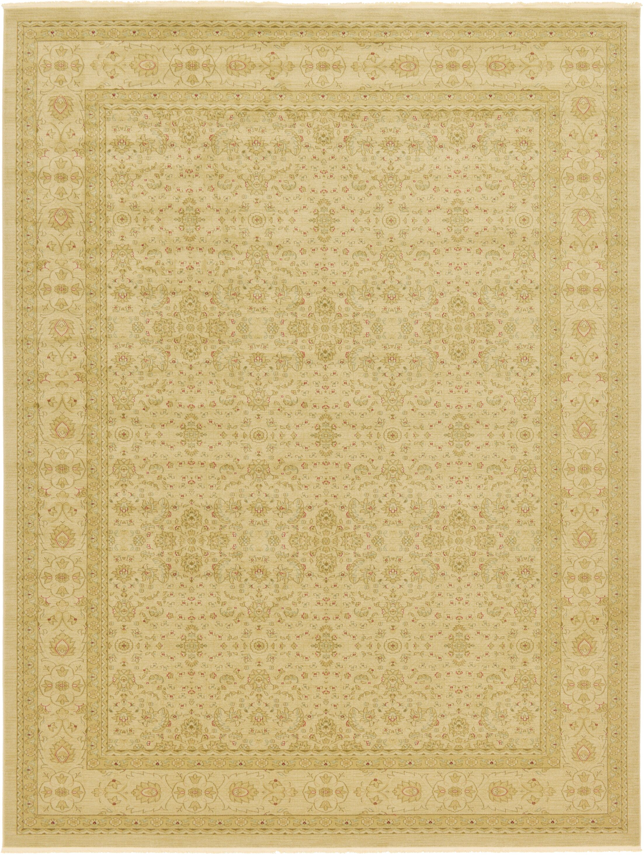 Willow Beige Area Rug Rug Size: Rectangle 12'2