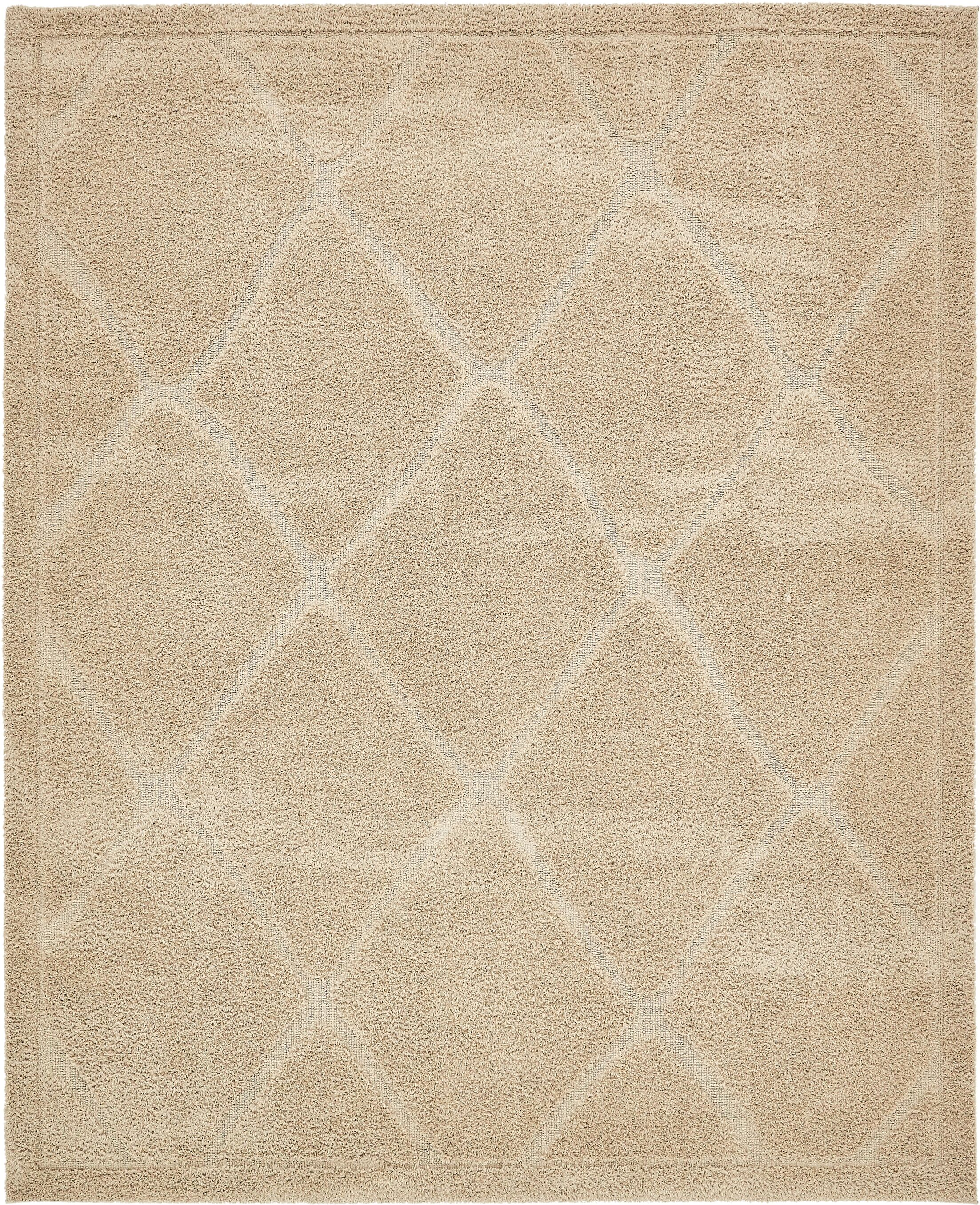 Chester Machine Woven Beige Area Rug Rug Size: Rectangle 8' x 10'