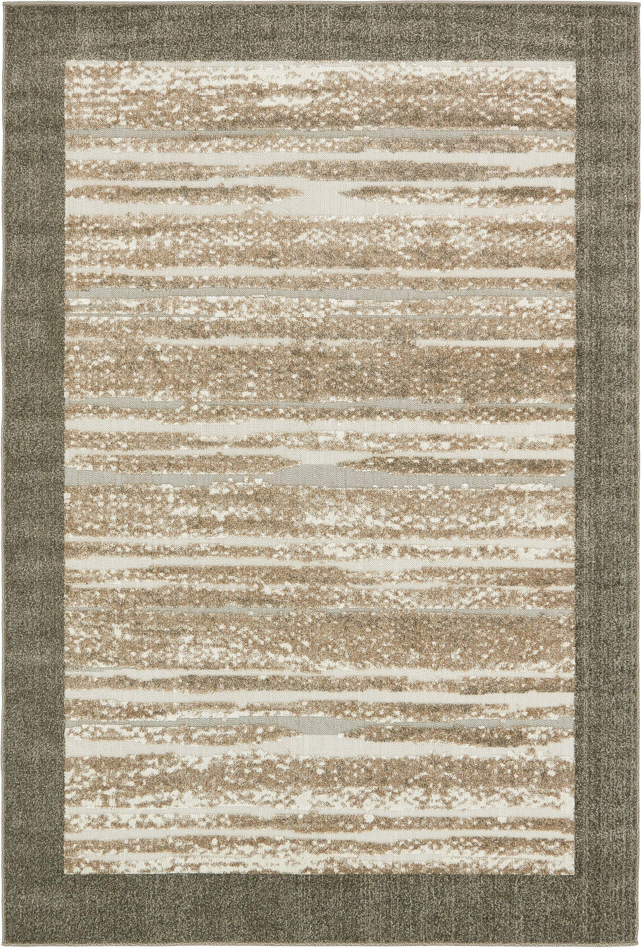 Koopman Brown Indoor/Outdoor Area Rug Rug Size: Rectangle 6' x 9'