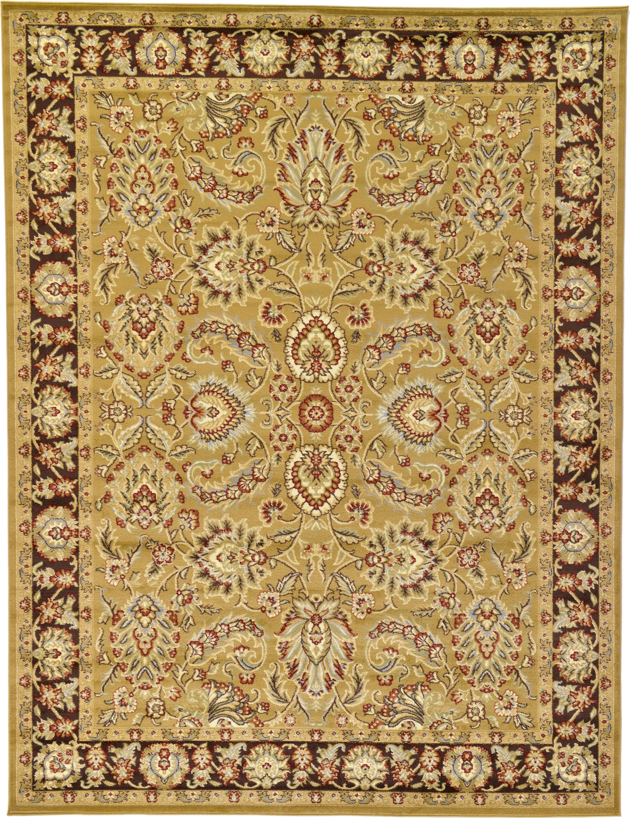 Fairmount Tan Oriental Area Rug Rug Size: Rectangle 9' x 12'