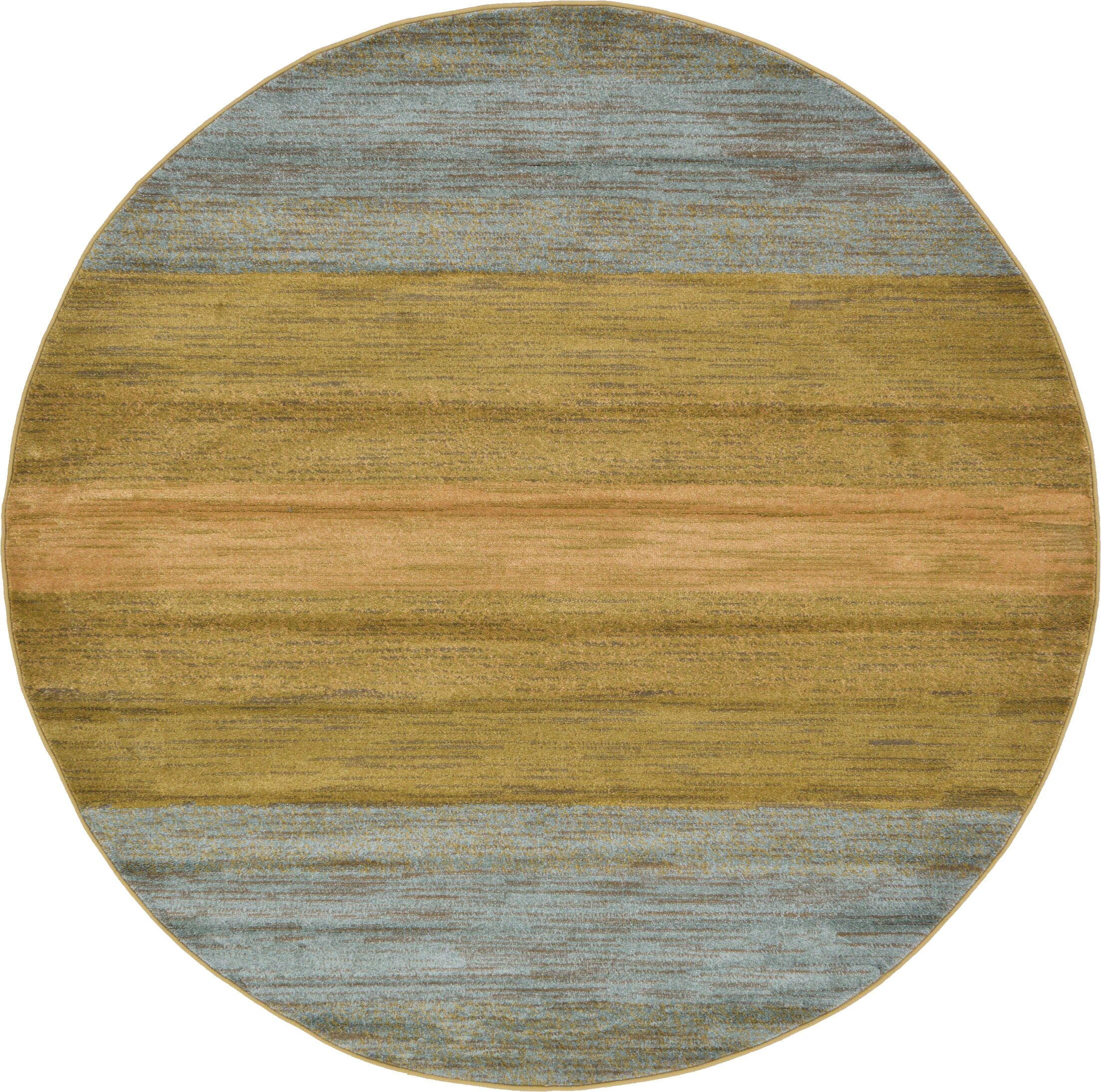 Simsbury Brown Area Rug Rug Size: Round 6'