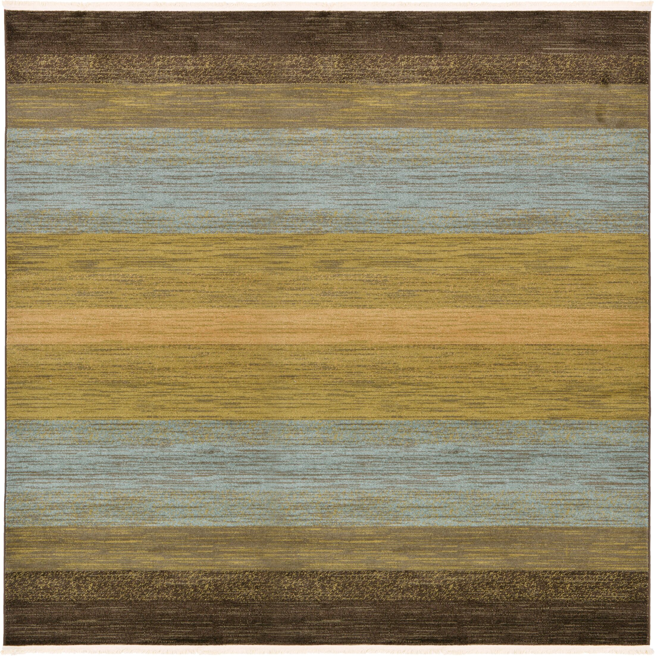Simsbury Brown Area Rug Rug Size: Square 8'
