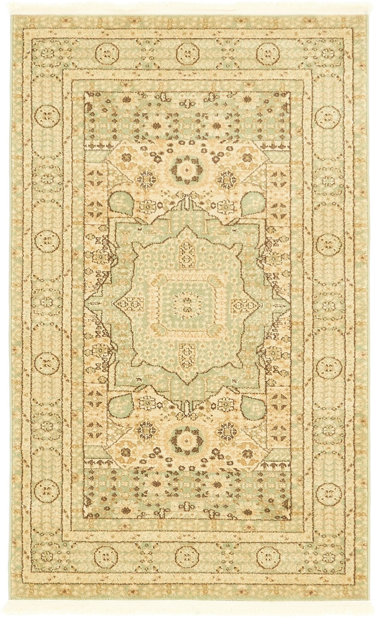 Laurelwood Beige Area Rug Rug Size: Rectangle 3' 3