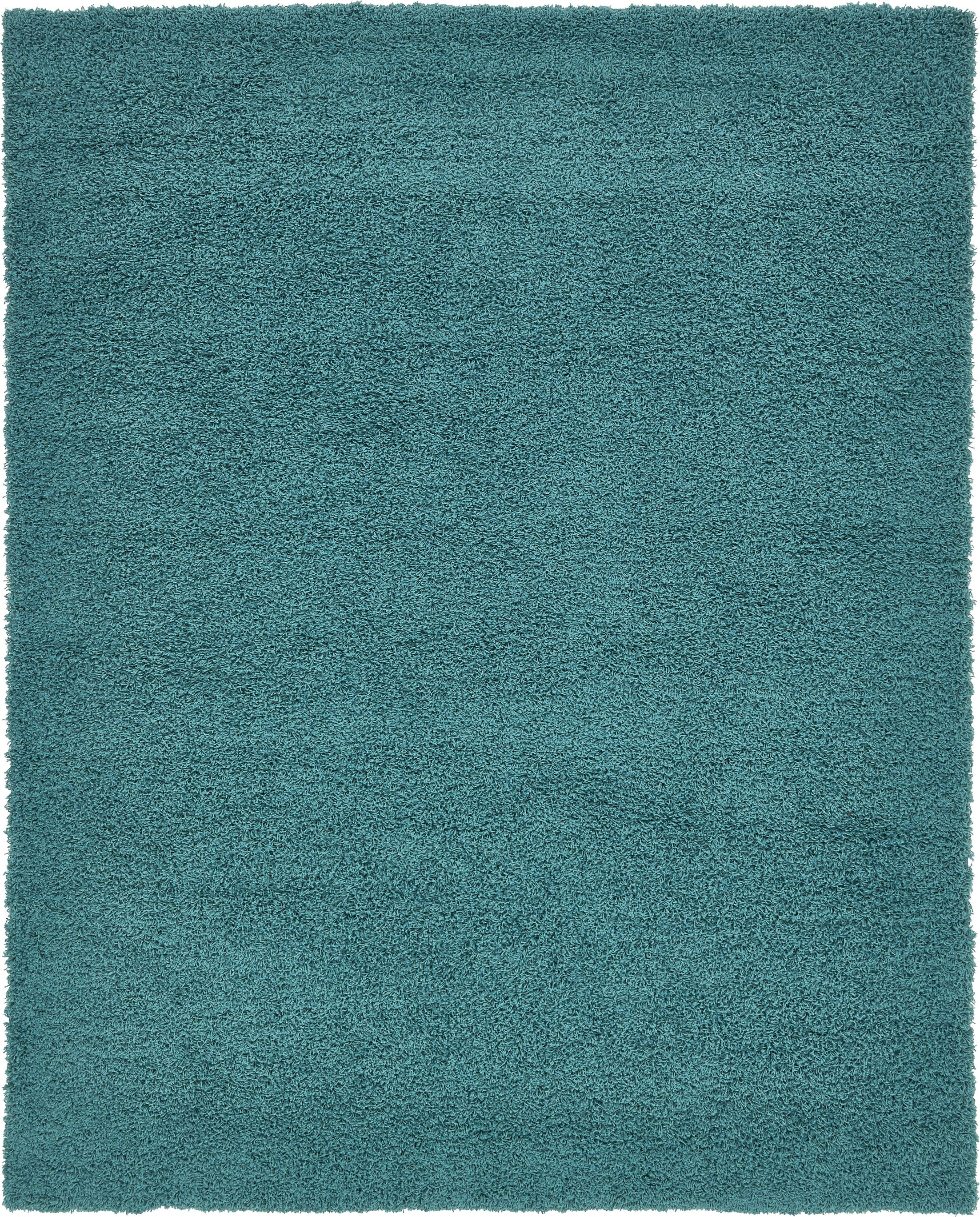 Lilah Teal Blue Area Rug Rug Size: Rectangle 8' x 10'