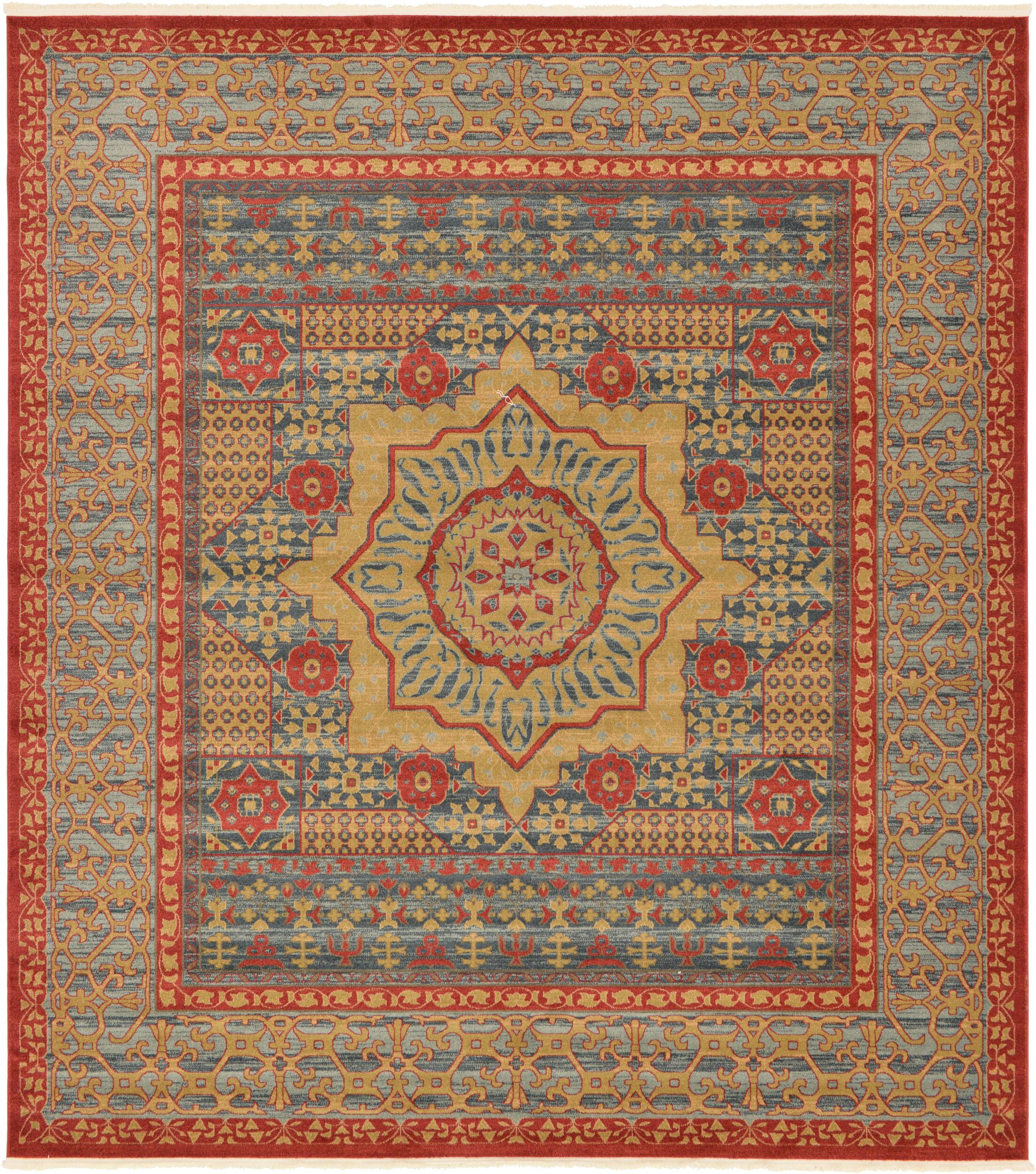 Laurelwood Red Area Rug Rug Size: Rectangle 10' x 11' 4