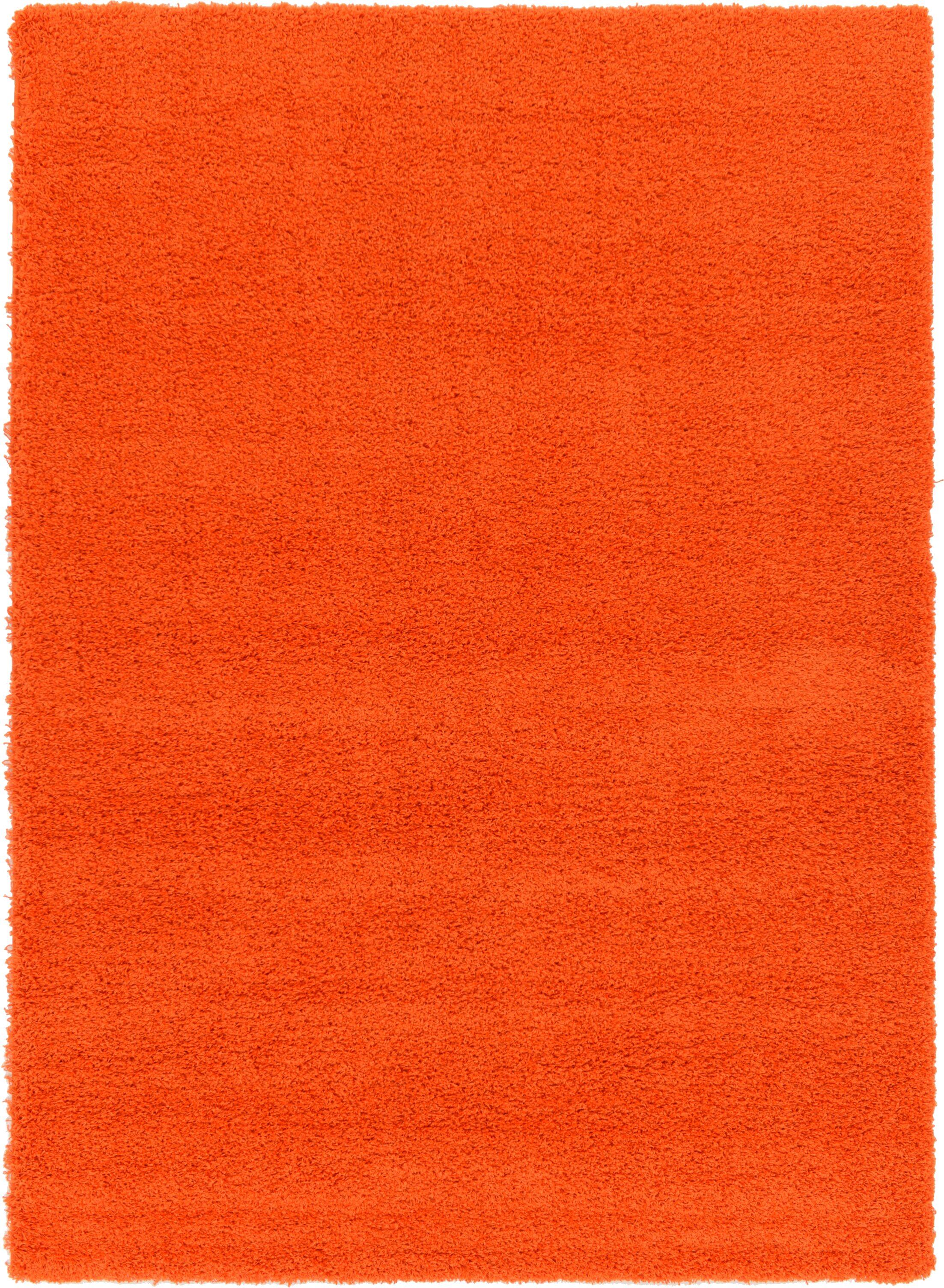 Madison Orange Area Rug Rug Size: Rectangle 7' x 10'