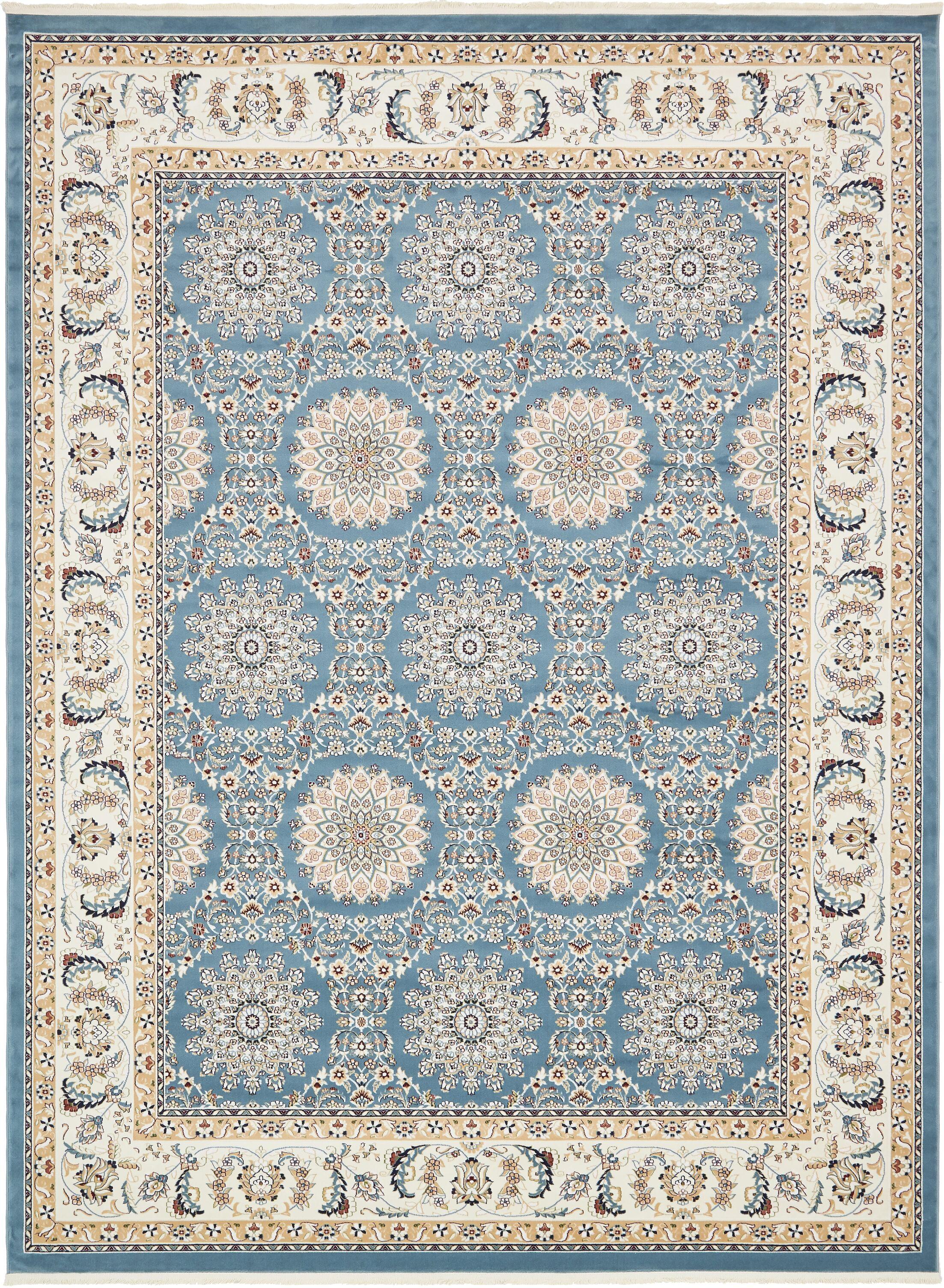 Jackson Blue Area Rug Rug Size: Rectangle 10' x 13'