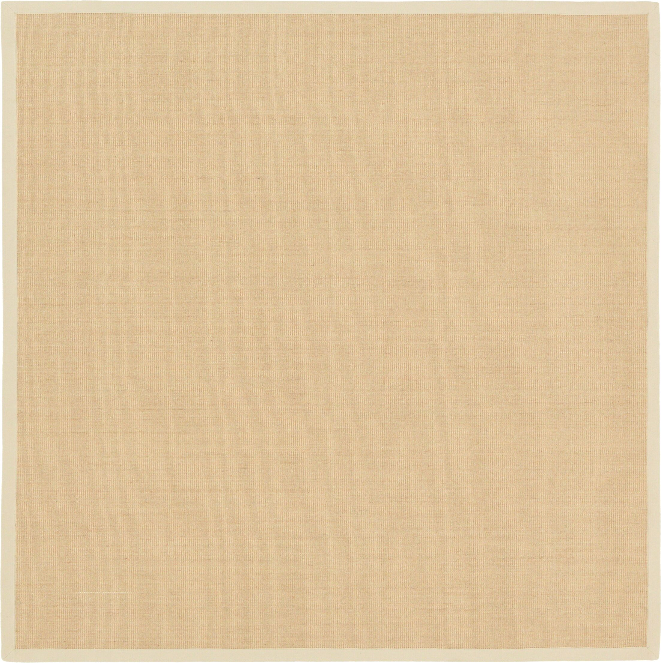 Newry Sand Indoor/Outdoor Area Rug Rug Size: Square 8' x 8'