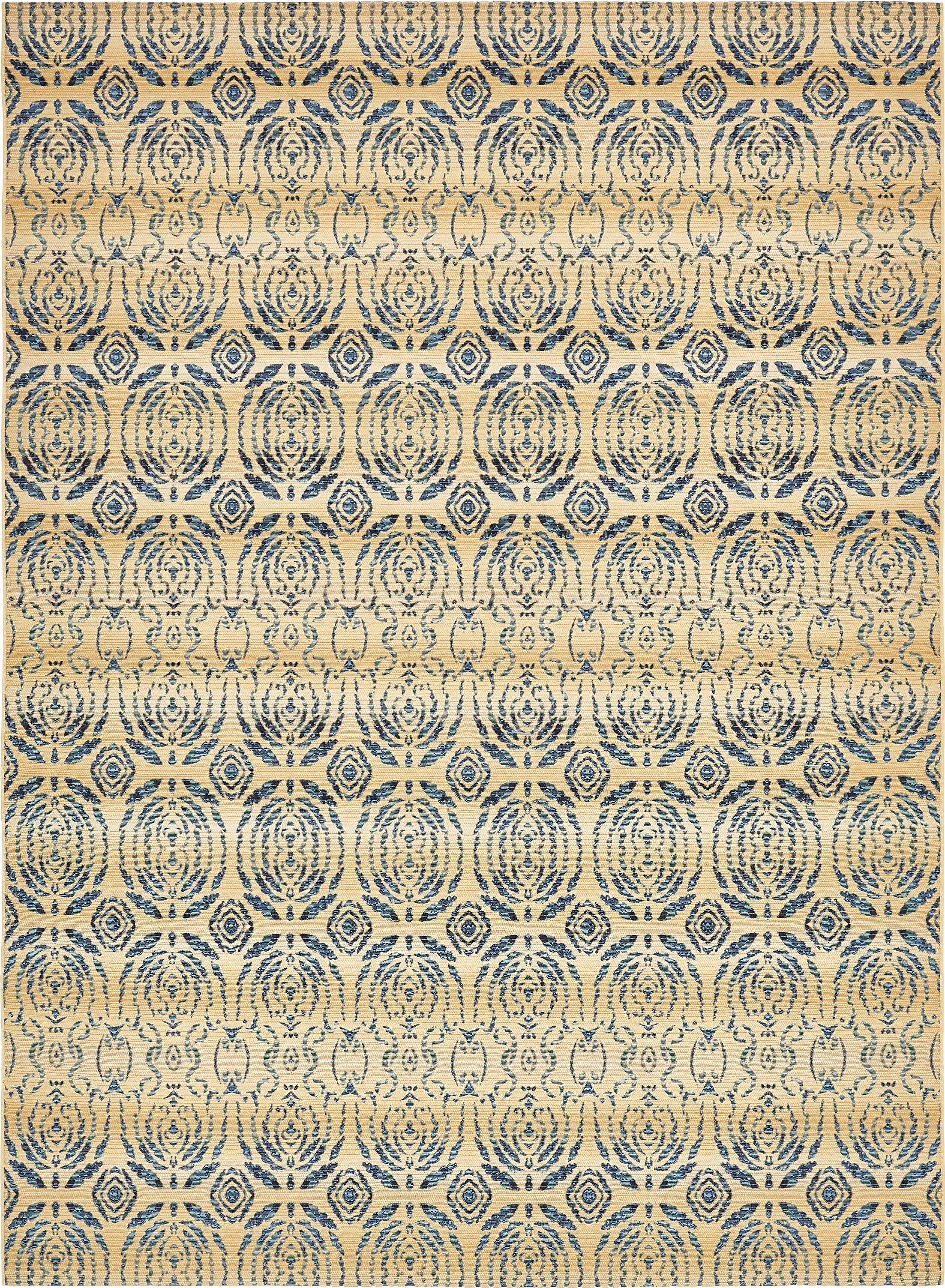 Jamie Beige Oriental Indoor/Outdoor Area Rug Rug Size: Rectangle 8' x 11'4