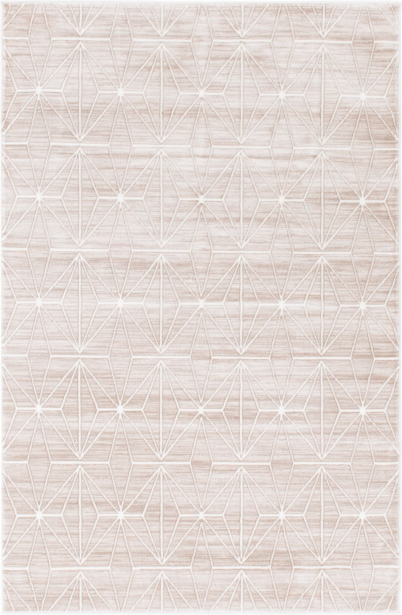 Uptown Fifth Avenue Light Brown Area Rug Rug Size: Rectangle 4' x 6'