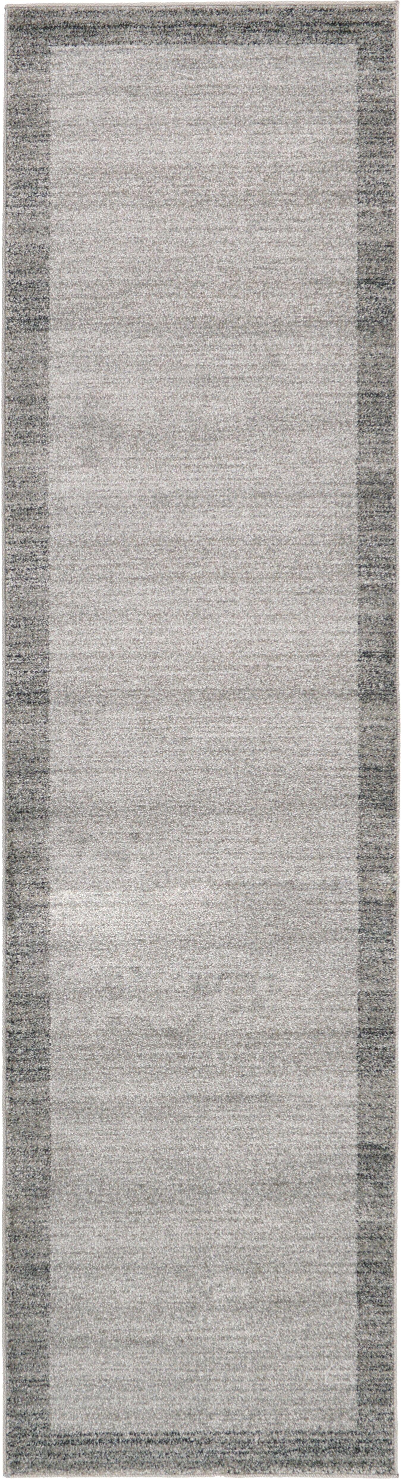 Christi Gray Area Rug Rug Size: Rectangle 10' x 3'