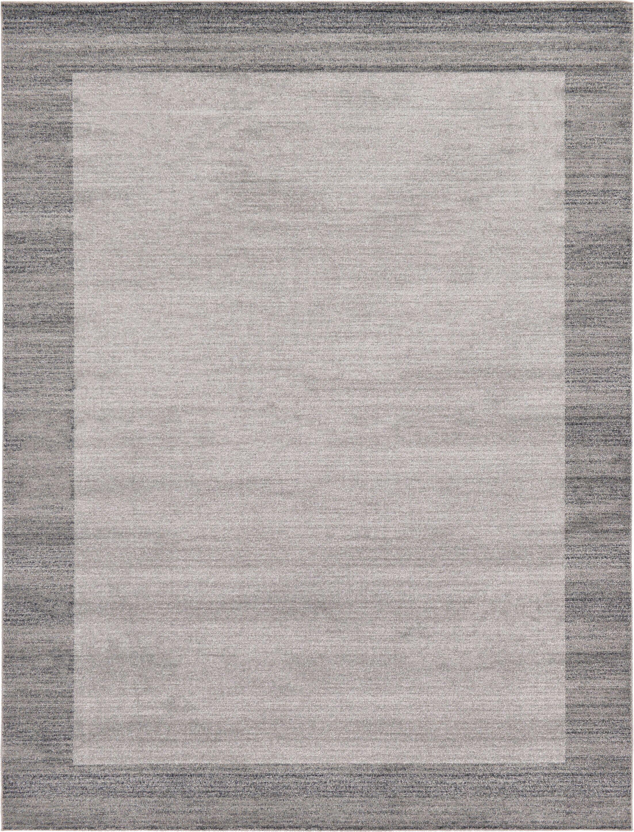 Christi Gray Area Rug Rug Size: Rectangle 9' x 12'