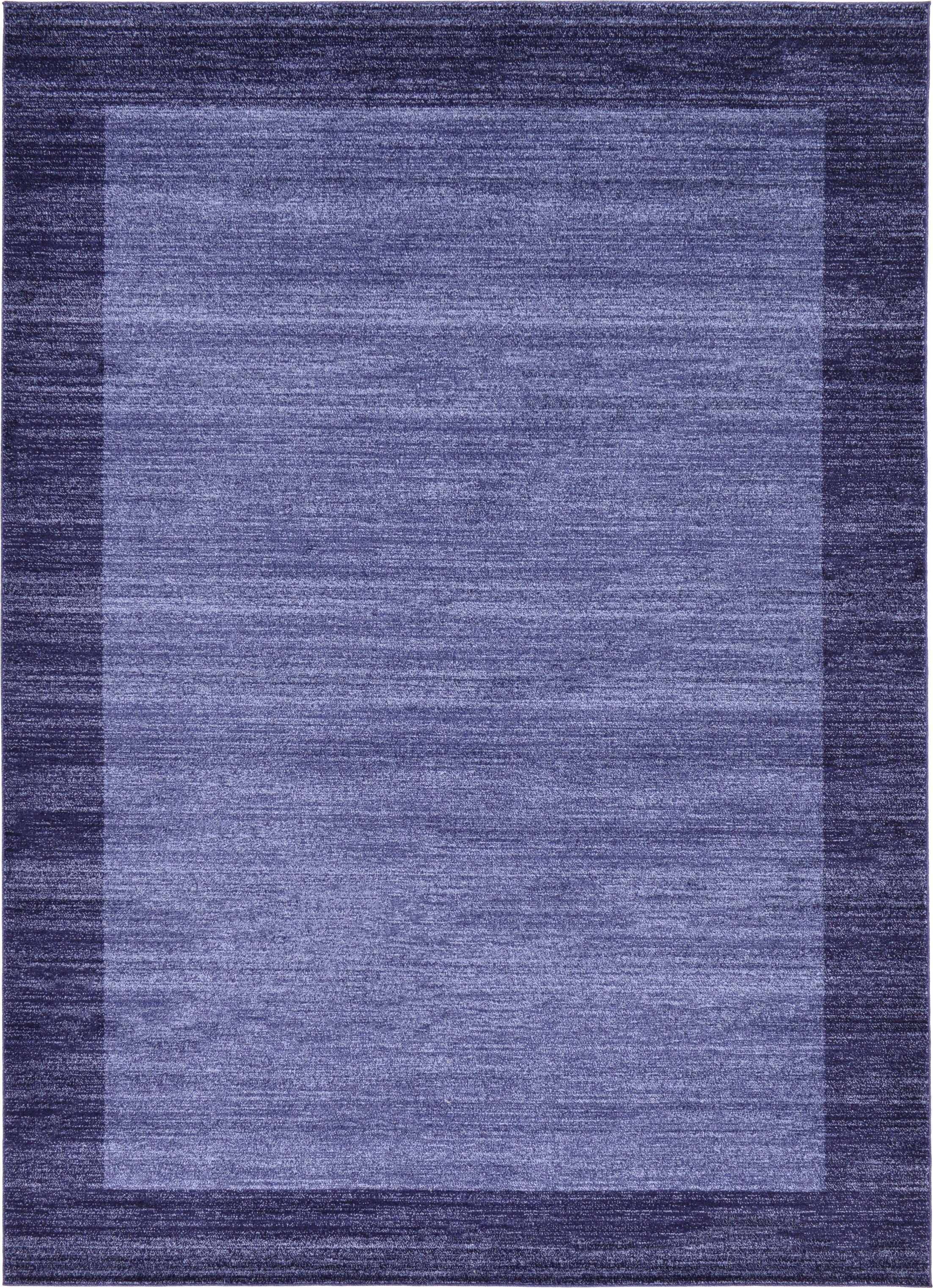 Christi Blue Area Rug Rug Size: Rectangle 8' x 11'