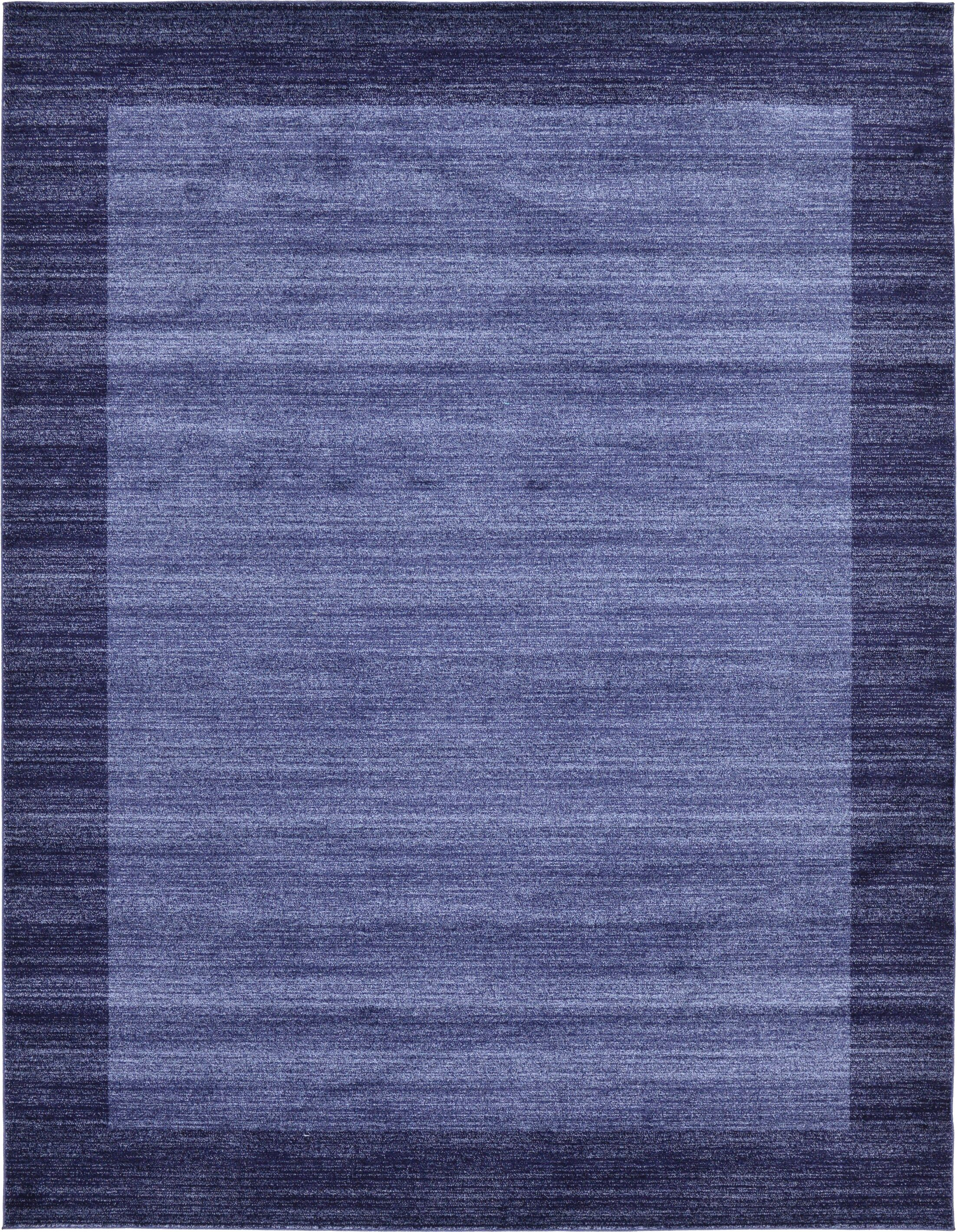 Christi Blue Area Rug Rug Size: Rectangle 10' x 13'