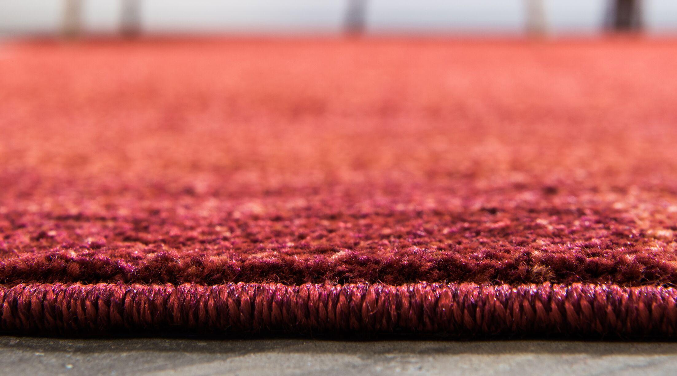 Christi Red Area Rug Rug Size: Rectangle 5' x 8'