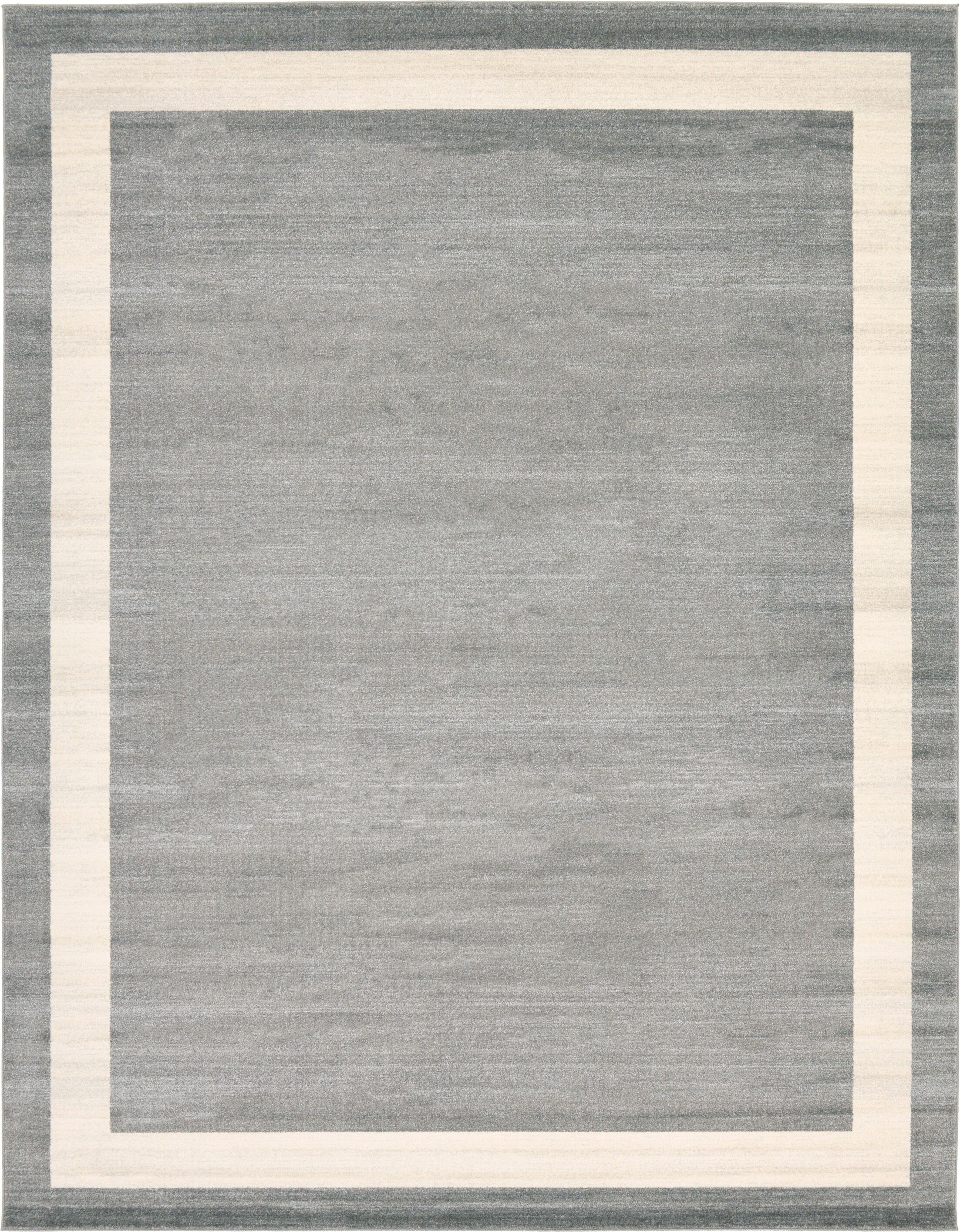 Mischa Gray Area Rug Rug Size: 10' x 13'