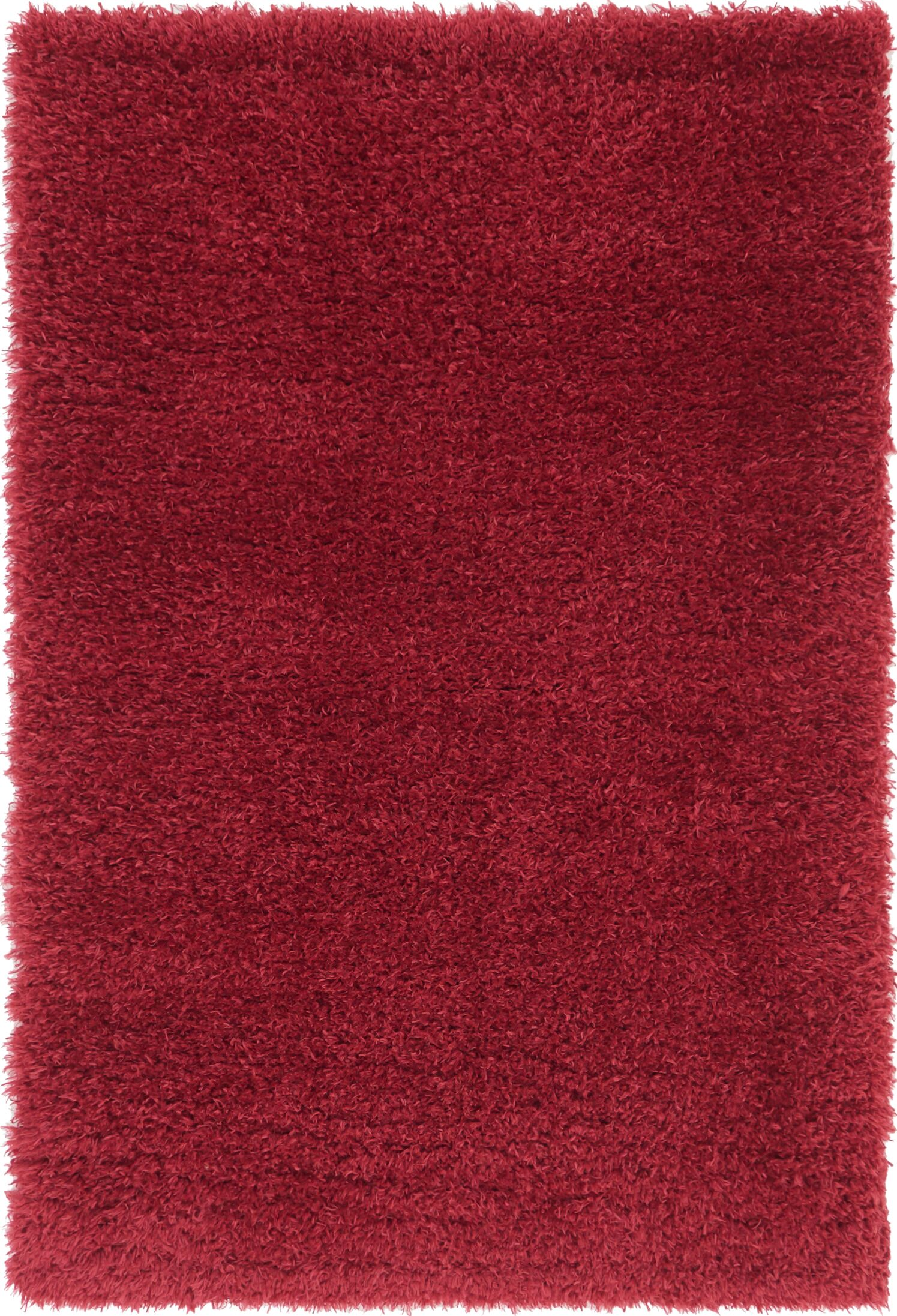 Red Area Rug Rug Size: 4' x 6'